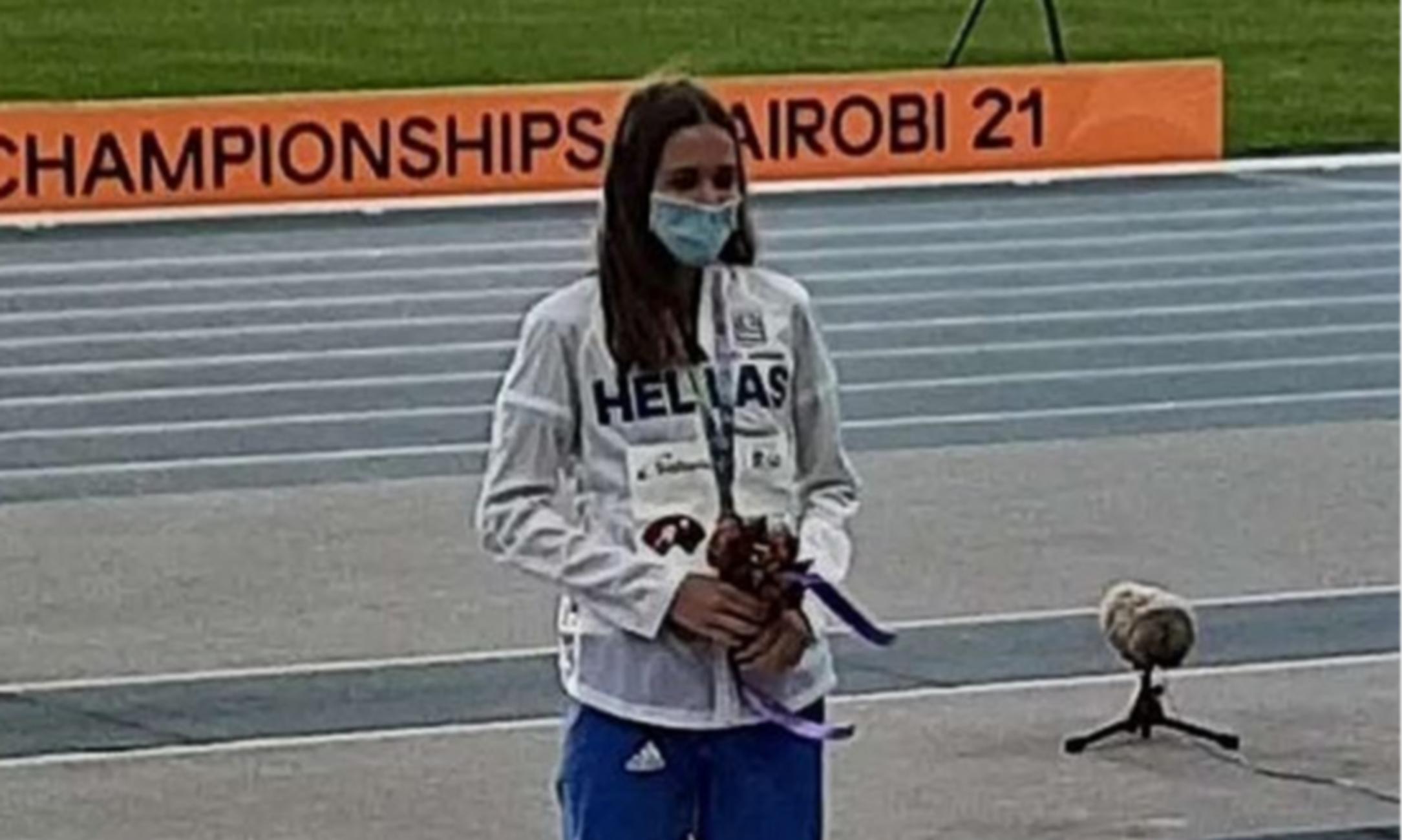 Παγκόσμιο Πρωτάθλημα Κ20: Χάλκινο μετάλλιο για την Δεληγιάννη με φοβερό φίνις στα 800 μέτρα