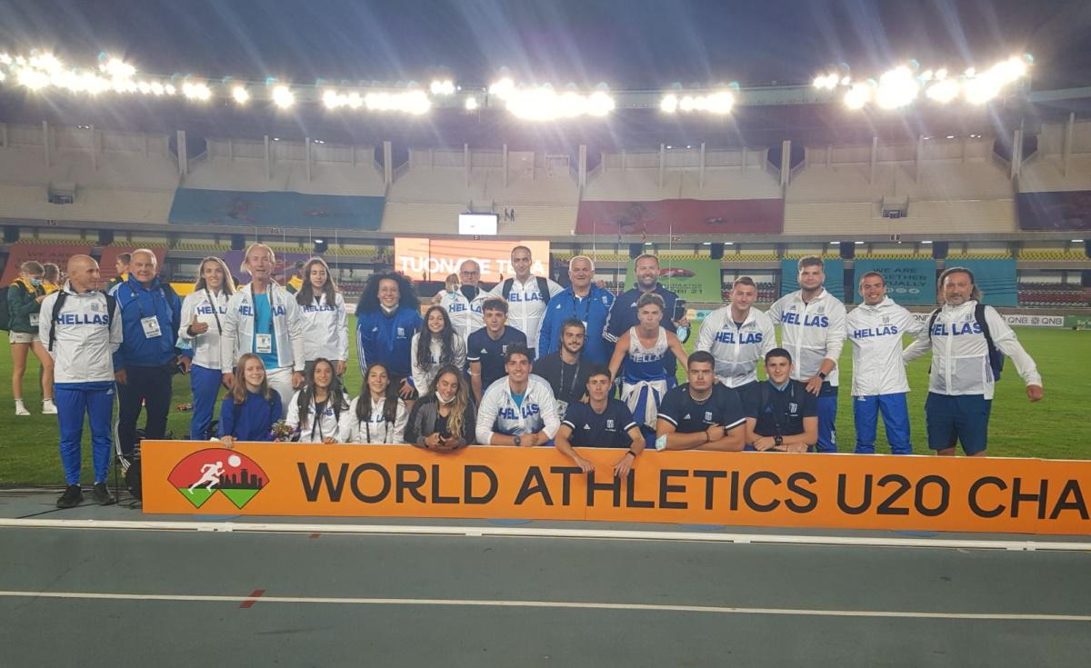Παγκόσμιο πρωτάθλημα U20: Δύο ασημένια μετάλλια και ένα χάλκινο ο ελληνικός απολογισμός