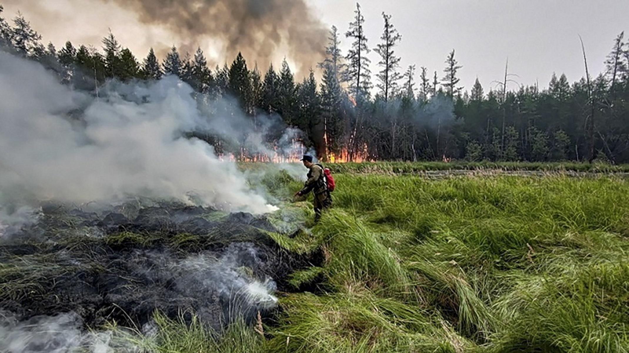 Η Σιβηρία ένα από τα θύματα της κλιματικής αλλαγής – Φωτιές κατακαίουν την τάιγκα