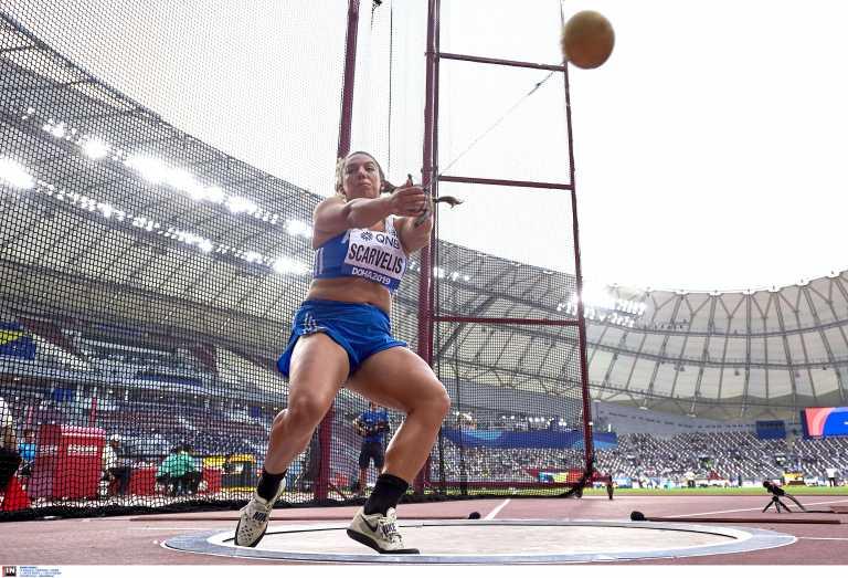 Ολυμπιακοί Αγώνες – Σφυροβολία: Δέκατη η Σταματία Σκαρβέλη στον πρώτο προκριματικό