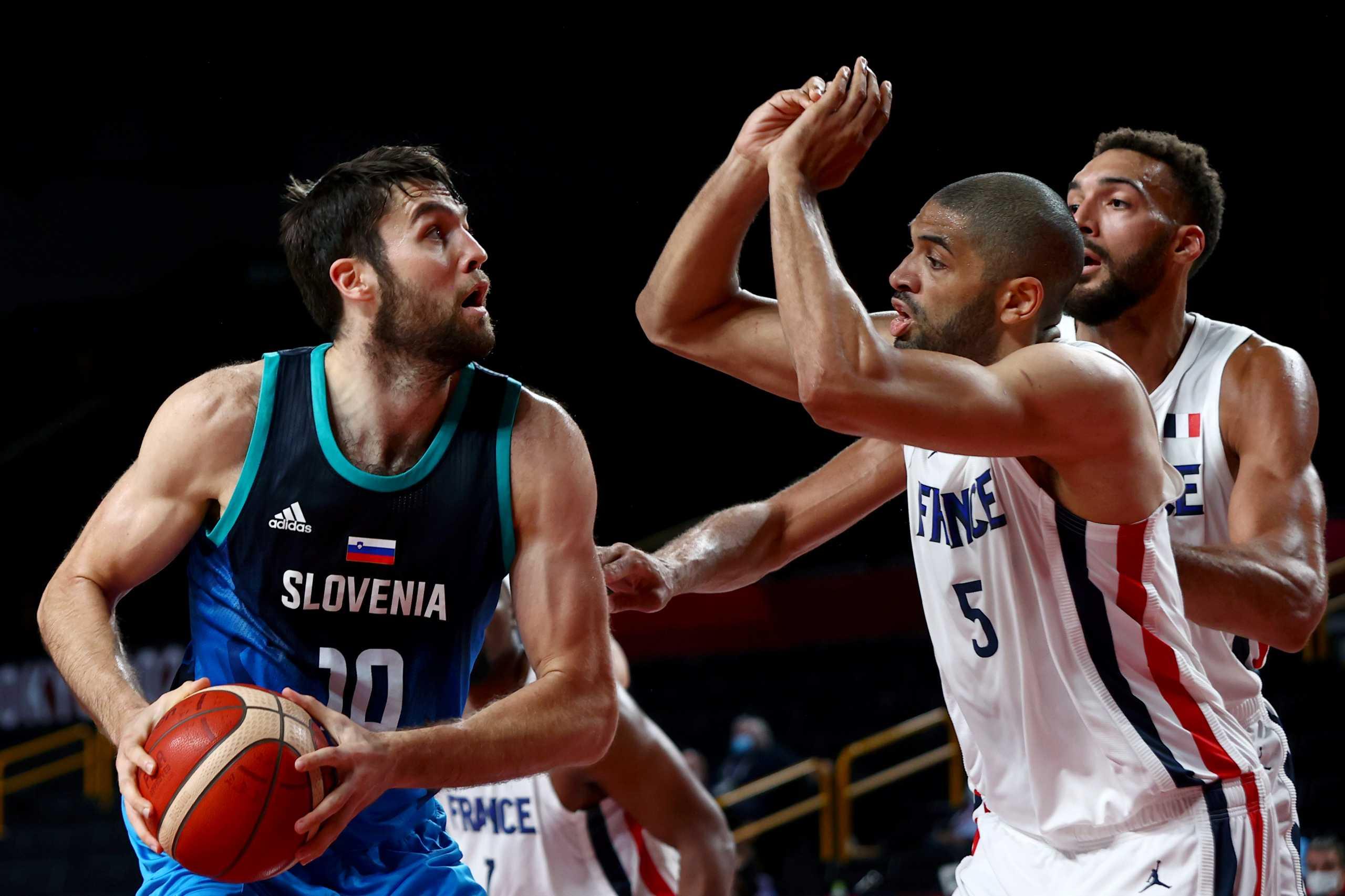 Γαλλία – Σλοβενία 90-89: Στον τελικό του τουρνουά μπάσκετ των Ολυμπιακών Αγώνων οι Γάλλοι δια χειρός Μπατούμ
