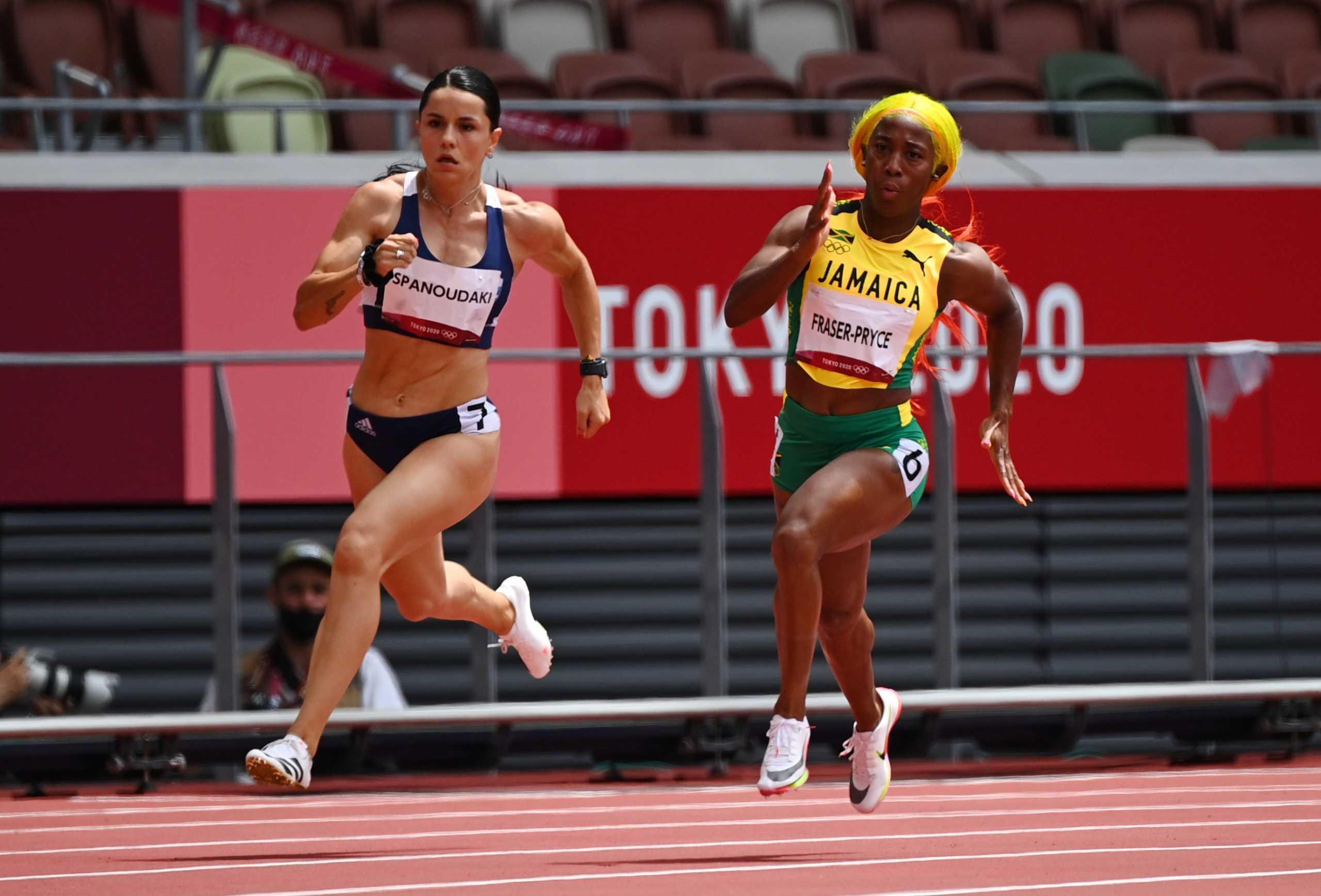 Ολυμπιακοί Αγώνες: Στα ημιτελικά των 200μ. γυναικών η Ραφαέλα Σπανουδάκη