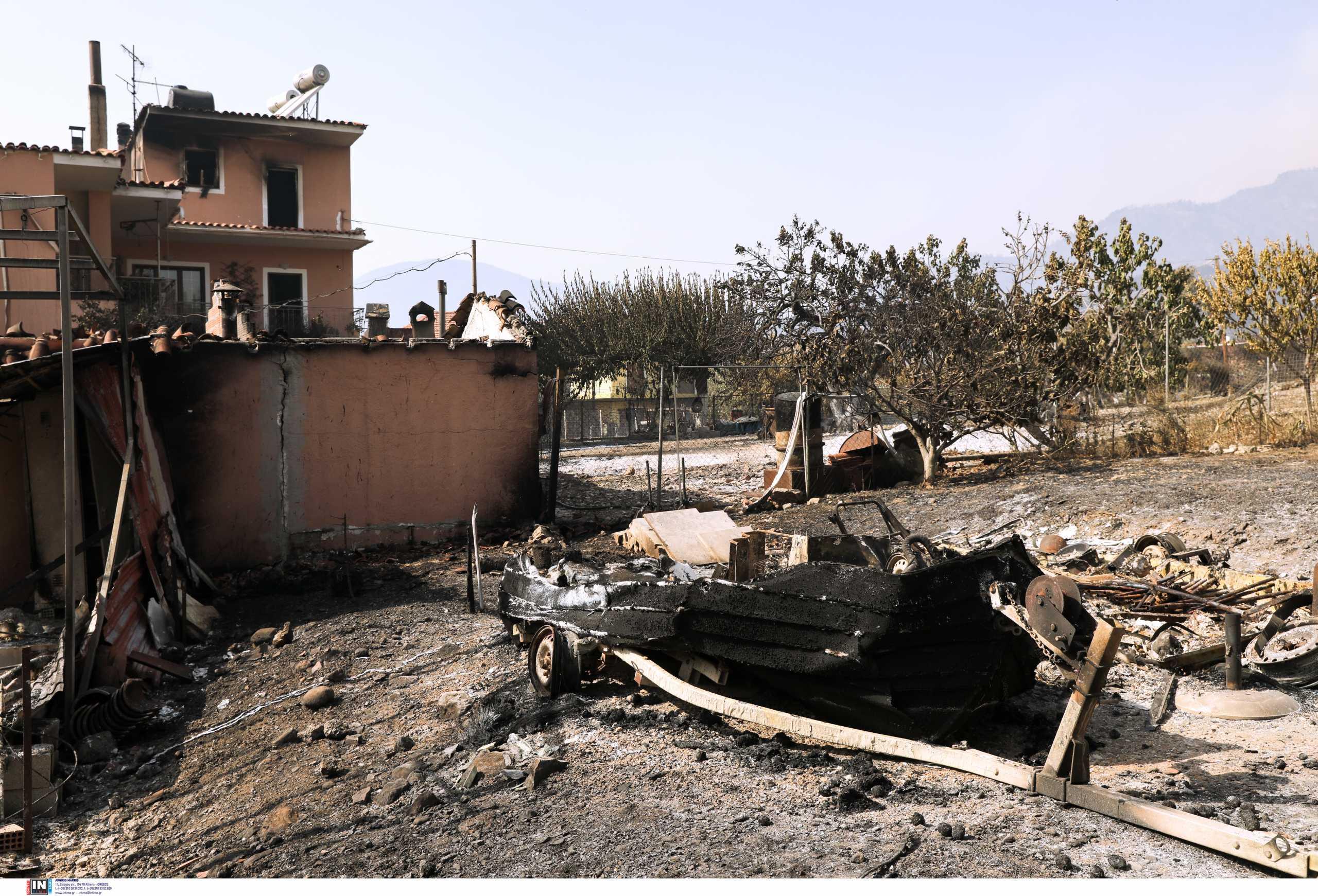 Φωτιές: Ακατάλληλα 368 σπίτια, επικίνδυναακόμα 330 – Συνεχίζονται οι έλεγχοι