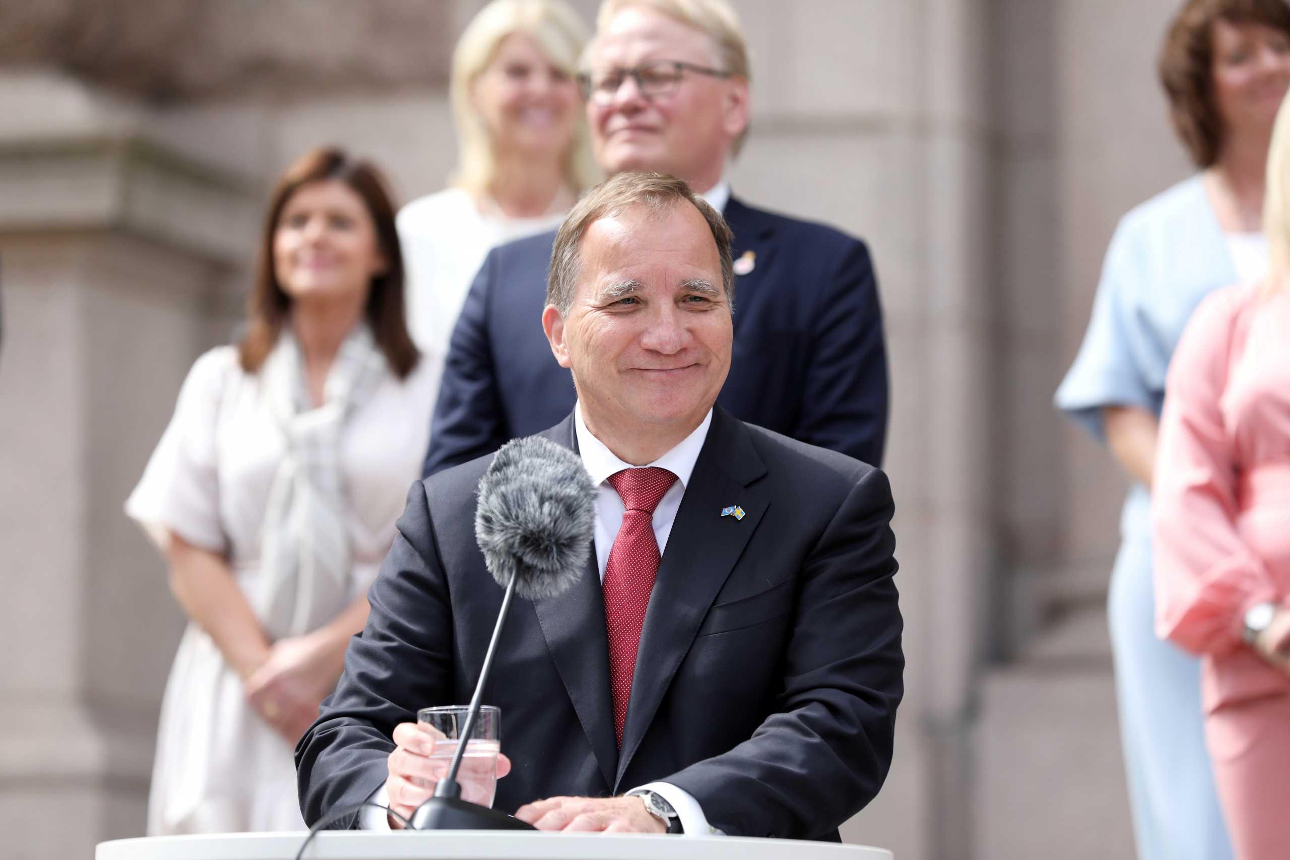 Σουηδία: Ο πρωθυπουργός Στεφάν Λεβέν ανακοίνωσε ότι θα παραιτηθεί τον Νοέμβριο