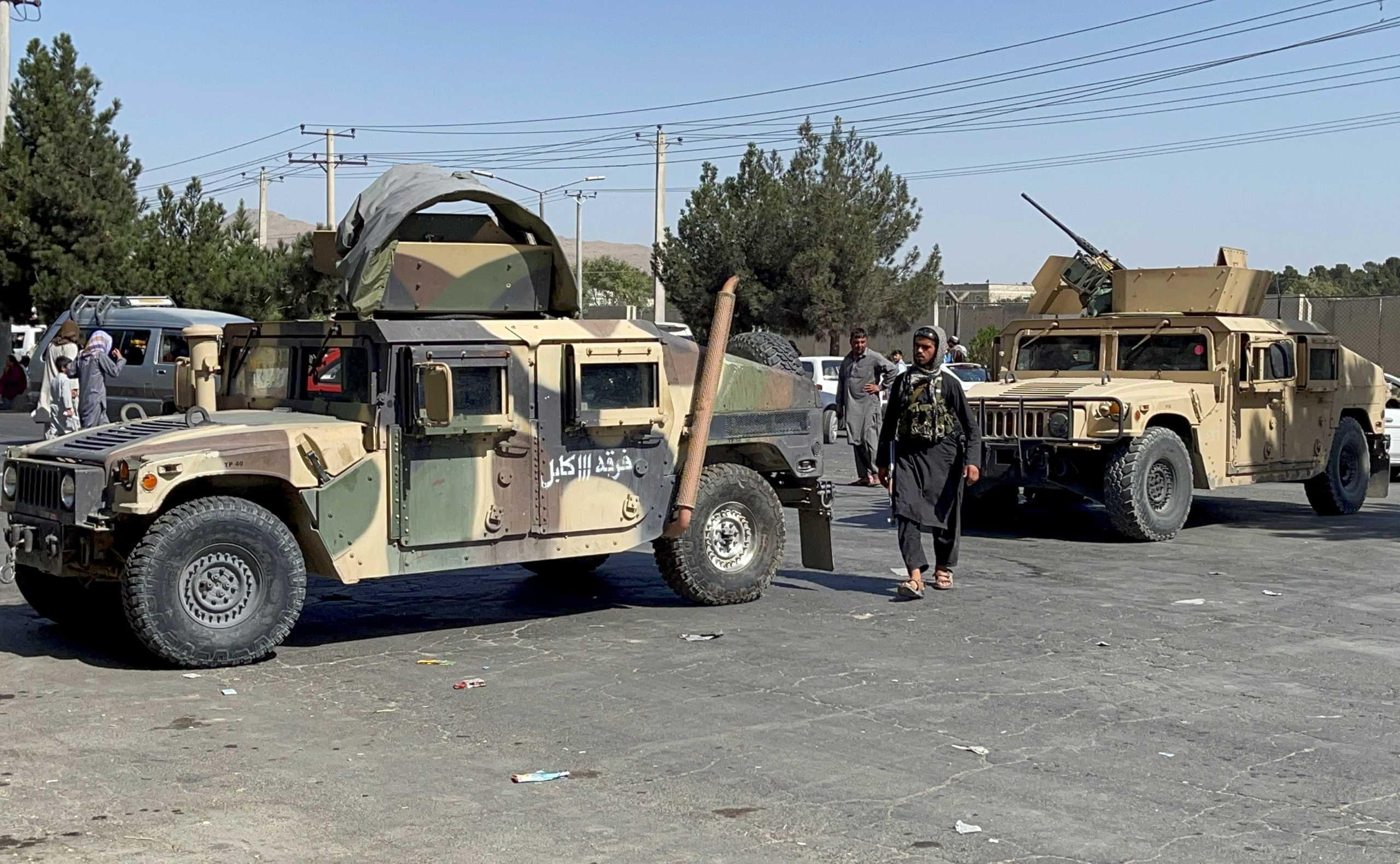 Ταλιμπάν: Διορία μιας εβδομάδας στους Αφγανούς για να παραδώσουν όπλα και πυρομαχικά