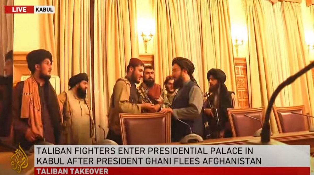Αφγανιστάν: Οι Ταλιμπάν μέσα στο Προεδρικό Μέγαρο – Γάνι: Έφυγα για να μην γίνει αιματοχυσία στην Καμπούλ