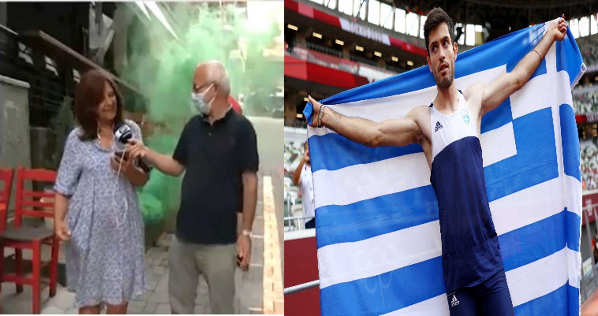 Μίλτος Τεντόγλου: «Κάηκαν» τα Γρεβενά για τον χρυσό Ολυμπιονίκη