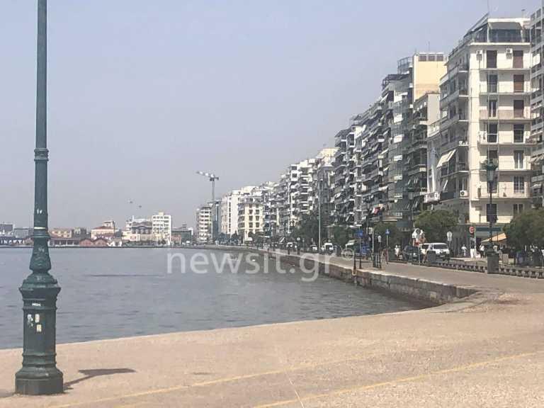 Αδειασε η Θεσσαλονίκη λόγω καύσωνα