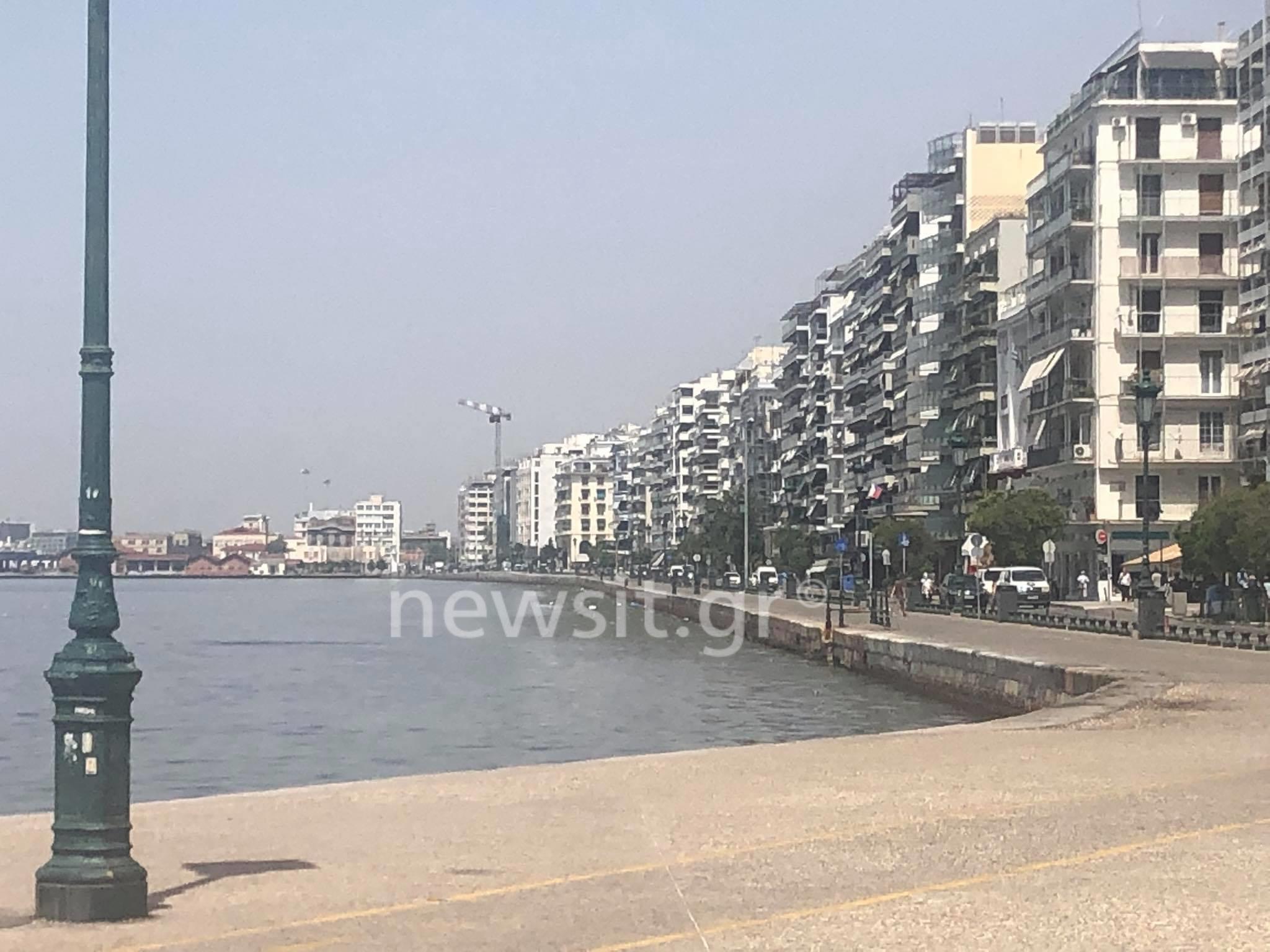 Καύσωνας στη Θεσσαλονίκη: Άδειασε η πόλη λόγω… ζέστης