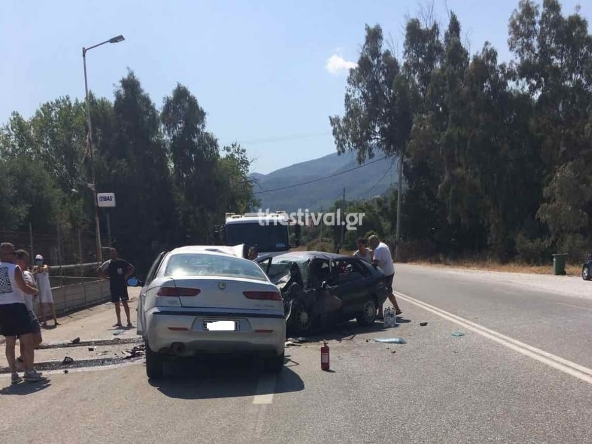 Θεσσαλονίκη: Τροχαίο δυστύχημα με τρεις νεκρούς και τρεις τραυματίες