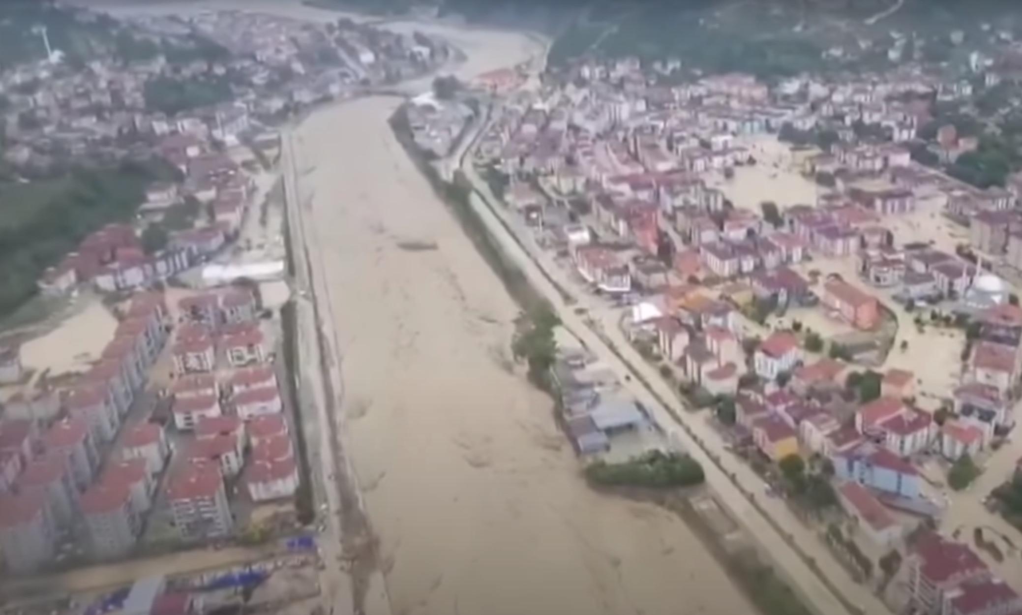 Τουρκία: 4 νεκροί και ένας αγνοούμενος από τις φονικές πλημμύρες
