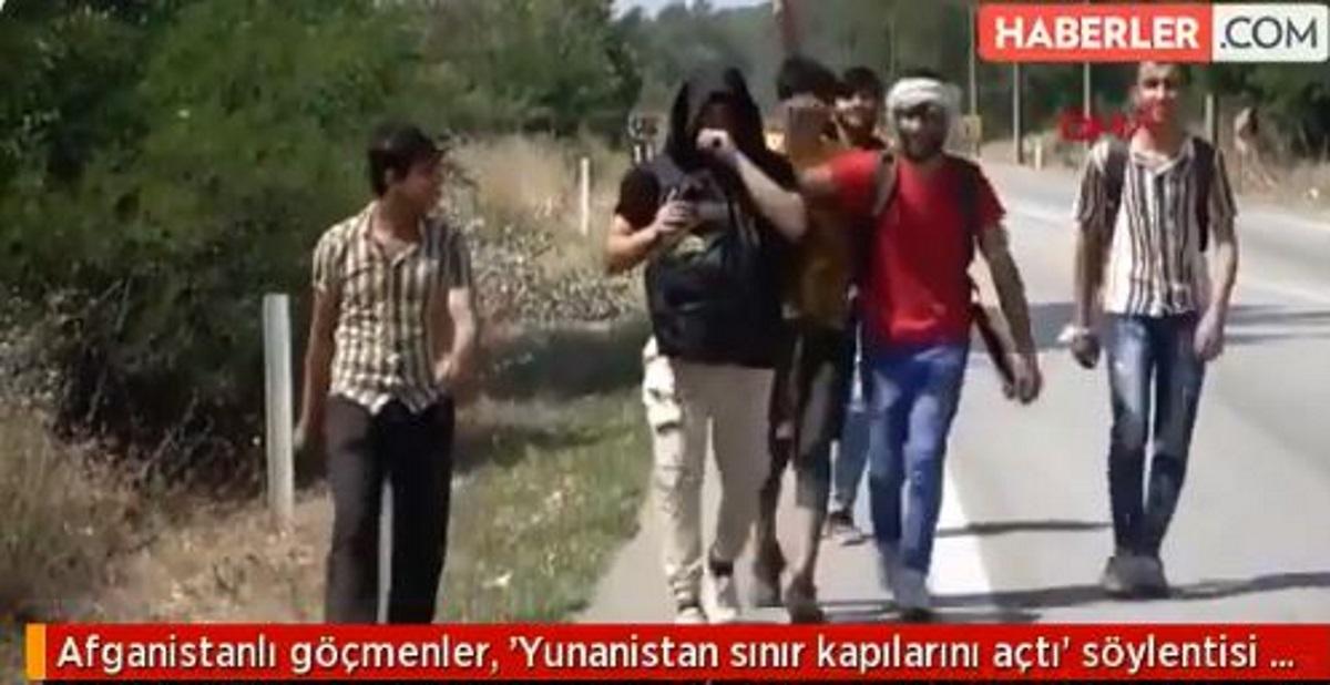 Με fake news η Τουρκία ωθεί μετανάστεςστα ελληνοτουρκικά σύνορα
