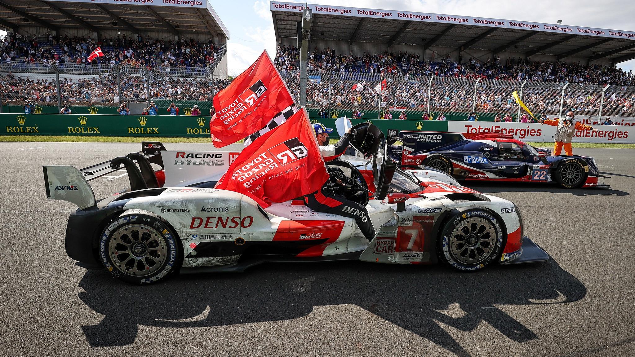 1-2 για την Toyota στις 24 ώρες του Le Mans