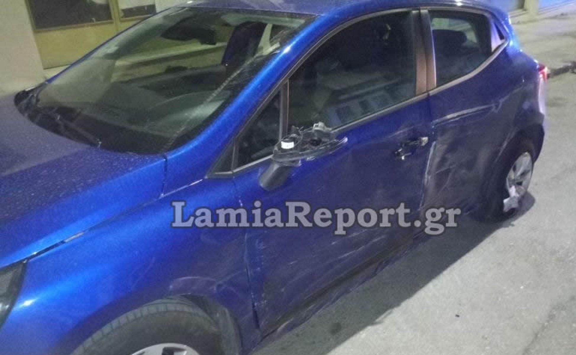Λαμία: Μεθυσμένος οδηγός σκόρπισε τον πανικό – Συγκρούστηκε με αυτοκίνητο και γκρέμισε κολόνα