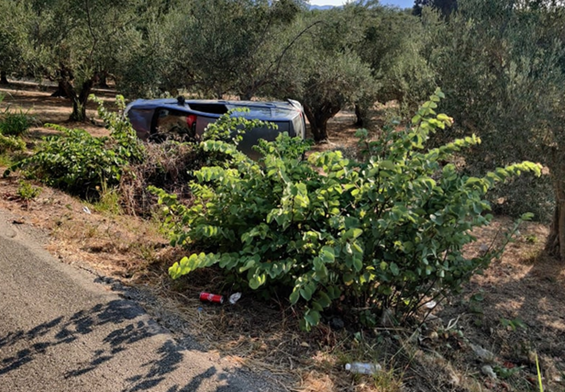 Μεσσηνία: Σκοτώθηκε σε τροχαίο μέσα σε αυτό το χωράφι – Ξεψύχησε ο οδηγός μόνος και αβοήθητος
