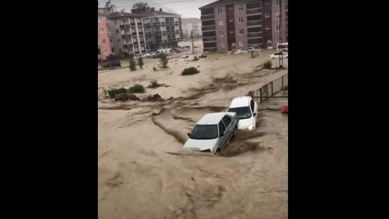 Τουρκία: Πλημμύρες μόλις λίγες ημέρες μετά τις πυρκαγιές