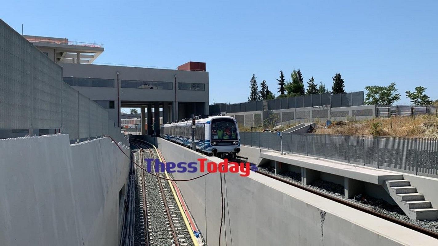 Θεσσαλονίκη: Καθημερινά τα δοκιμαστικά δρομολόγια στο μετρό – Στις ράγες και ο 15ος συρμός