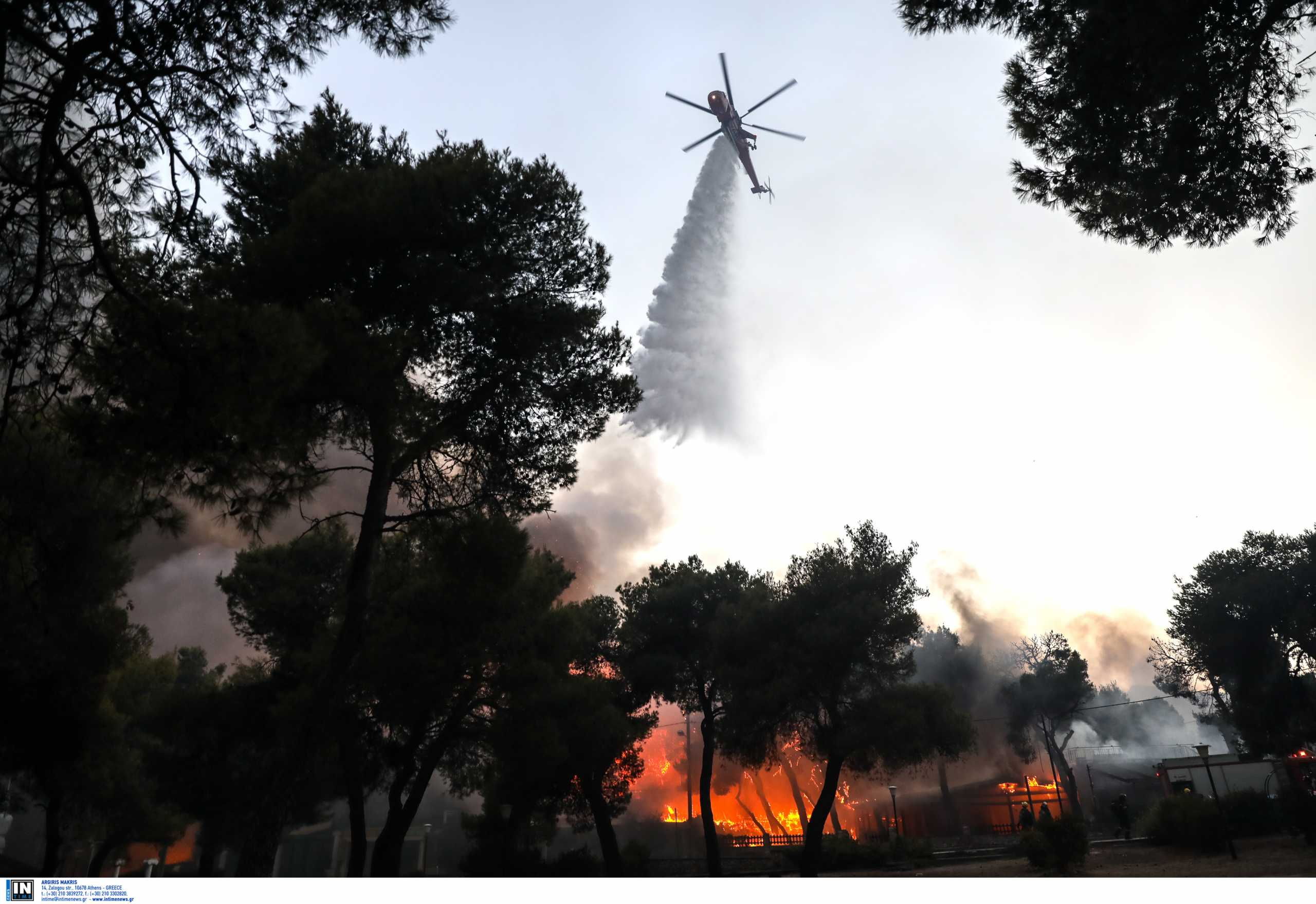 Φωτιές – Πυροσβεστική: 45 πύρινα μέτωπα το τελευταίο 24ωρο σε δασικές εκτάσεις