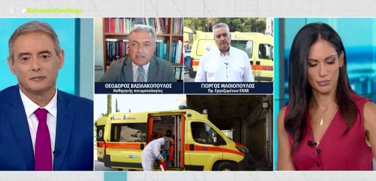 Βασιλακόπουλος: Δέχομαι απειλητικά τηλεφωνήματα, λένε ότι θα με βρουν στα χαντάκια