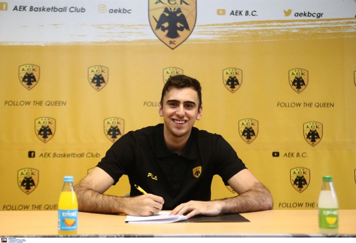 Η ΑΕΚ ανακοίνωσε Βαουλέτ έως το 2023