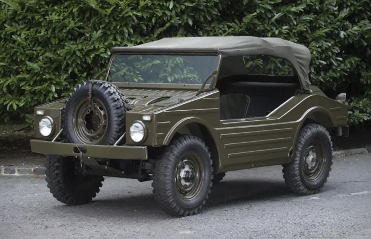 Το στρατιωτικό όχημα της Porsche που δεν έφτασε ποτέ σε μαζική παραγωγή