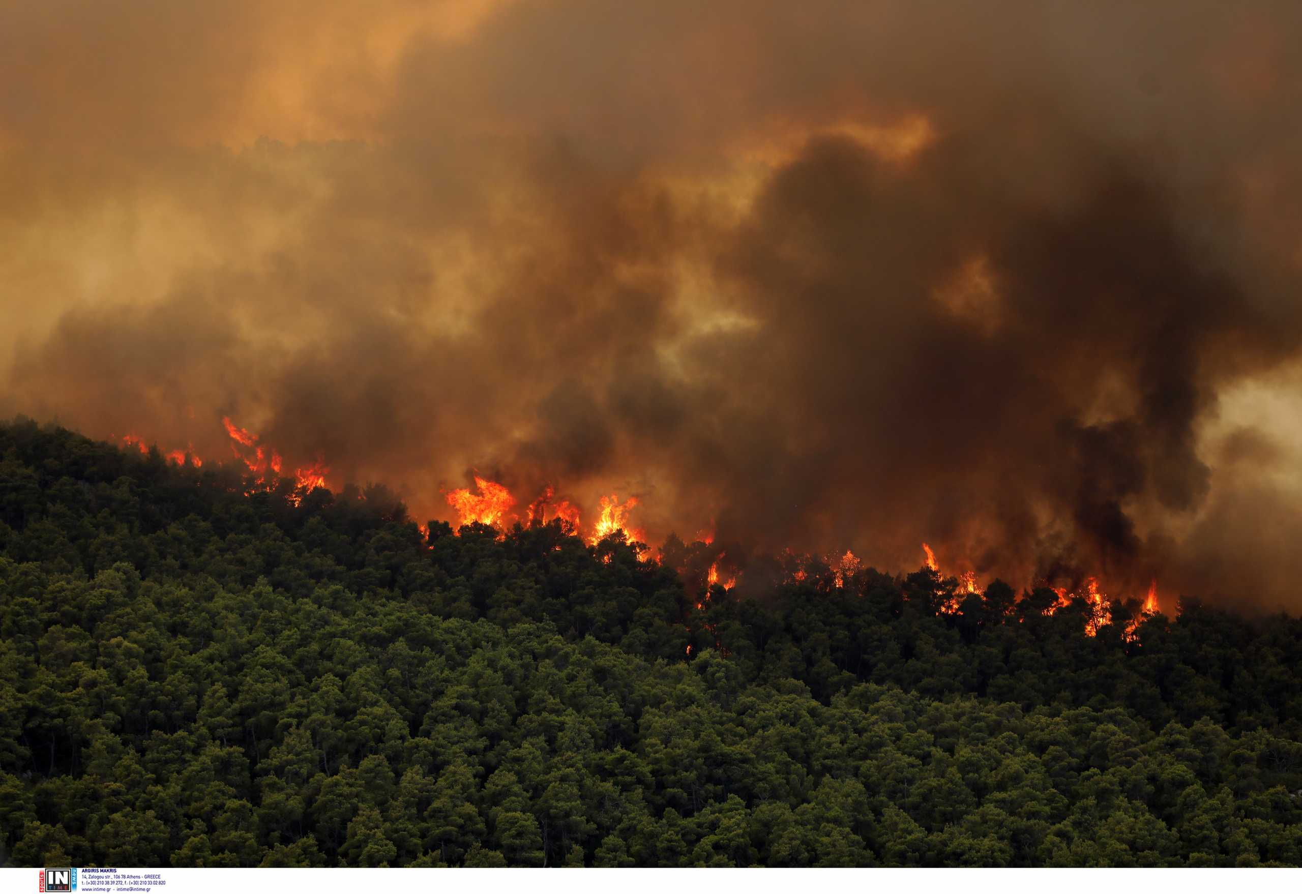 Πατούλης για φωτιά στα Βίλια: Εντολή εκκένωσης δίνει μόνο ο Αρχηγός της Πυροσβεστικής