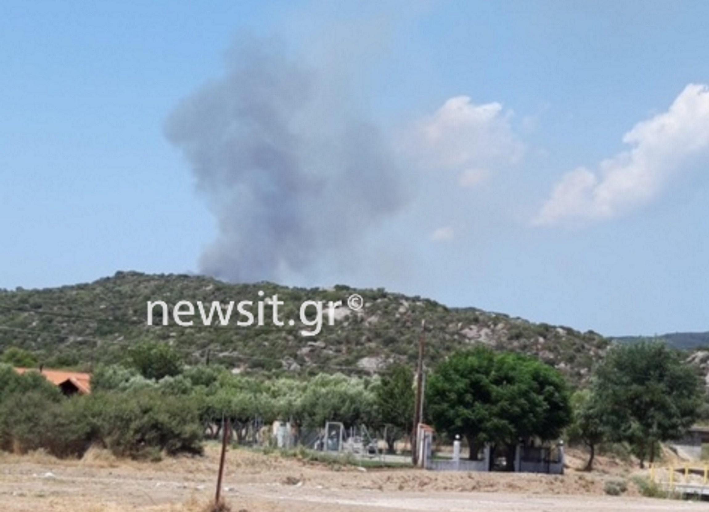 Φωτιά στη Χαλκιδική