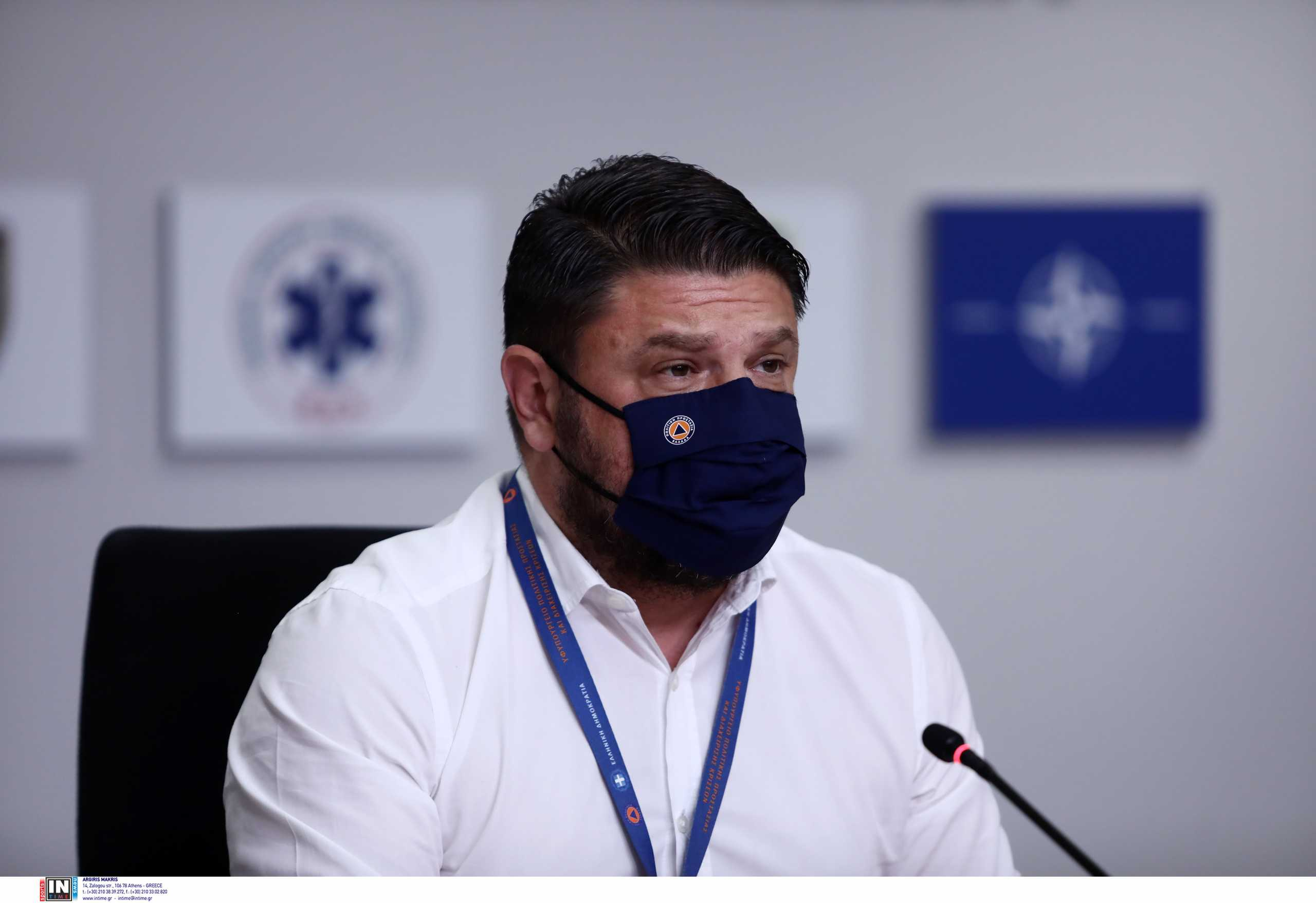 Νίκος Χαρδαλιάς: Το «ευχαριστώ» στον Ευρωπαίο επίτροπο για την Πολιτική Προστασία