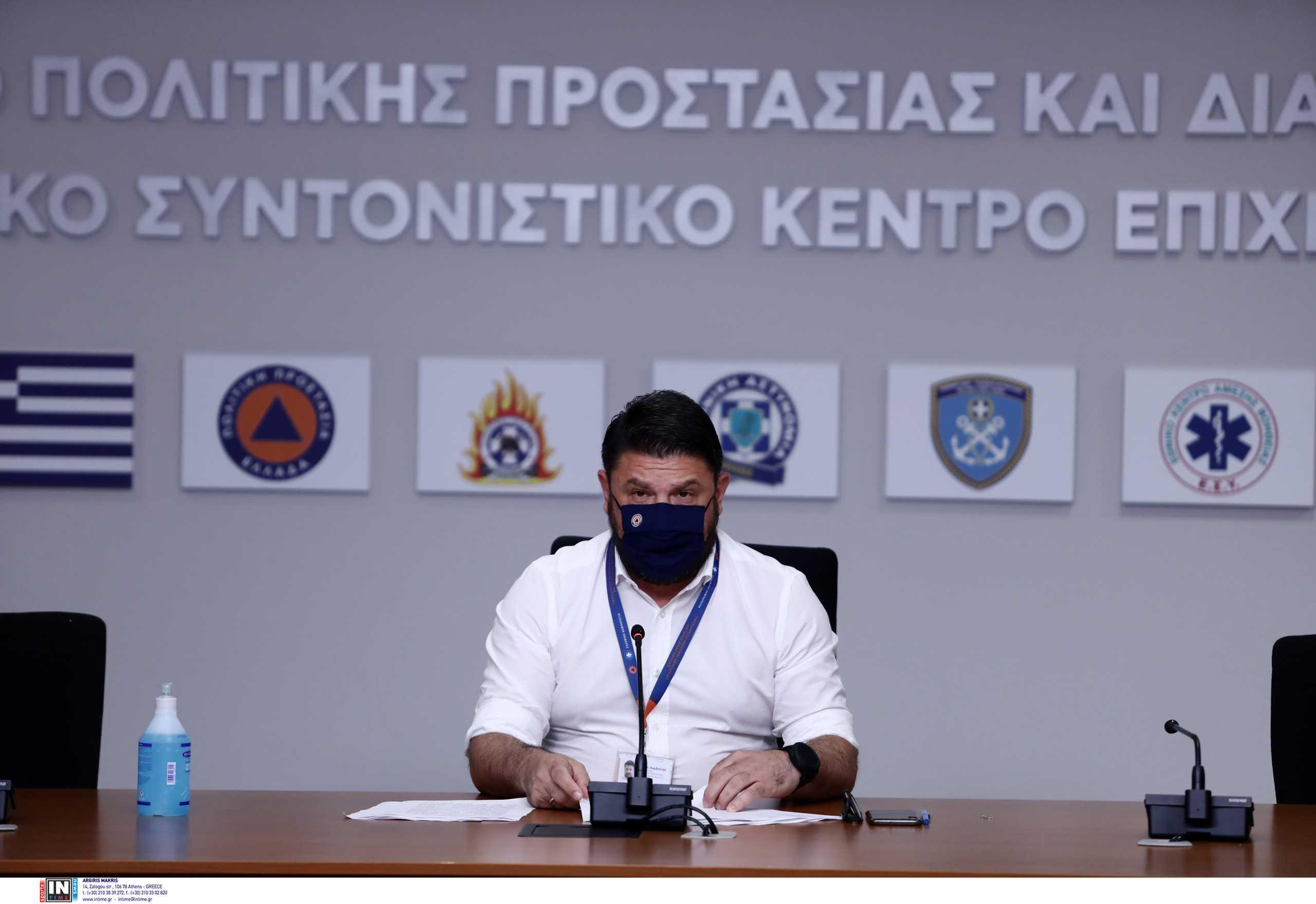 Φωτιά στην Εύβοια: Ο Νίκος Χαρδαλιάς απάντησε για τα εναέρια μέσα