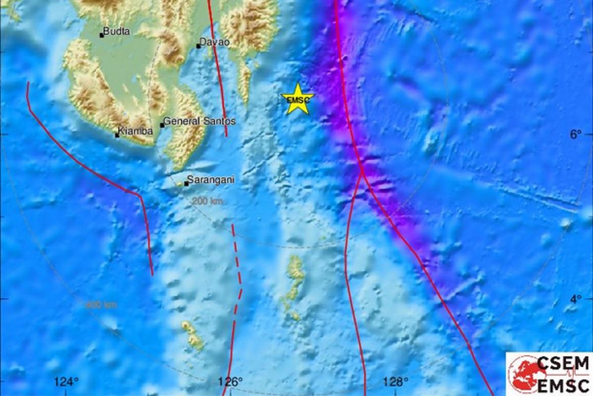 Σεισμός πάνω από 7 ρίχτερ στις Φιλιππίνες