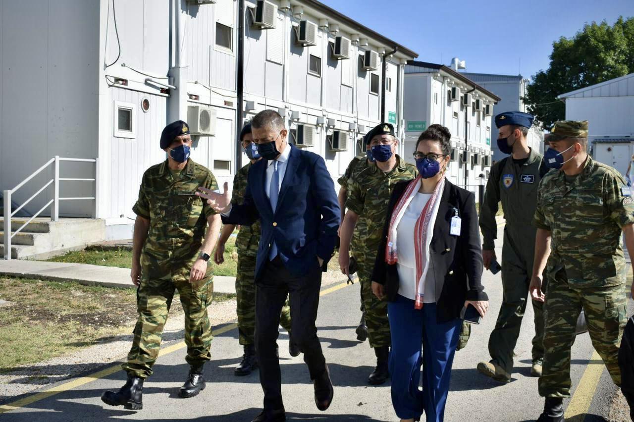 Αλκιβιάδης Στεφανής: Σημαντική επίσκεψη στην Ελληνική Δύναμη Κοσσυφοπεδίου!