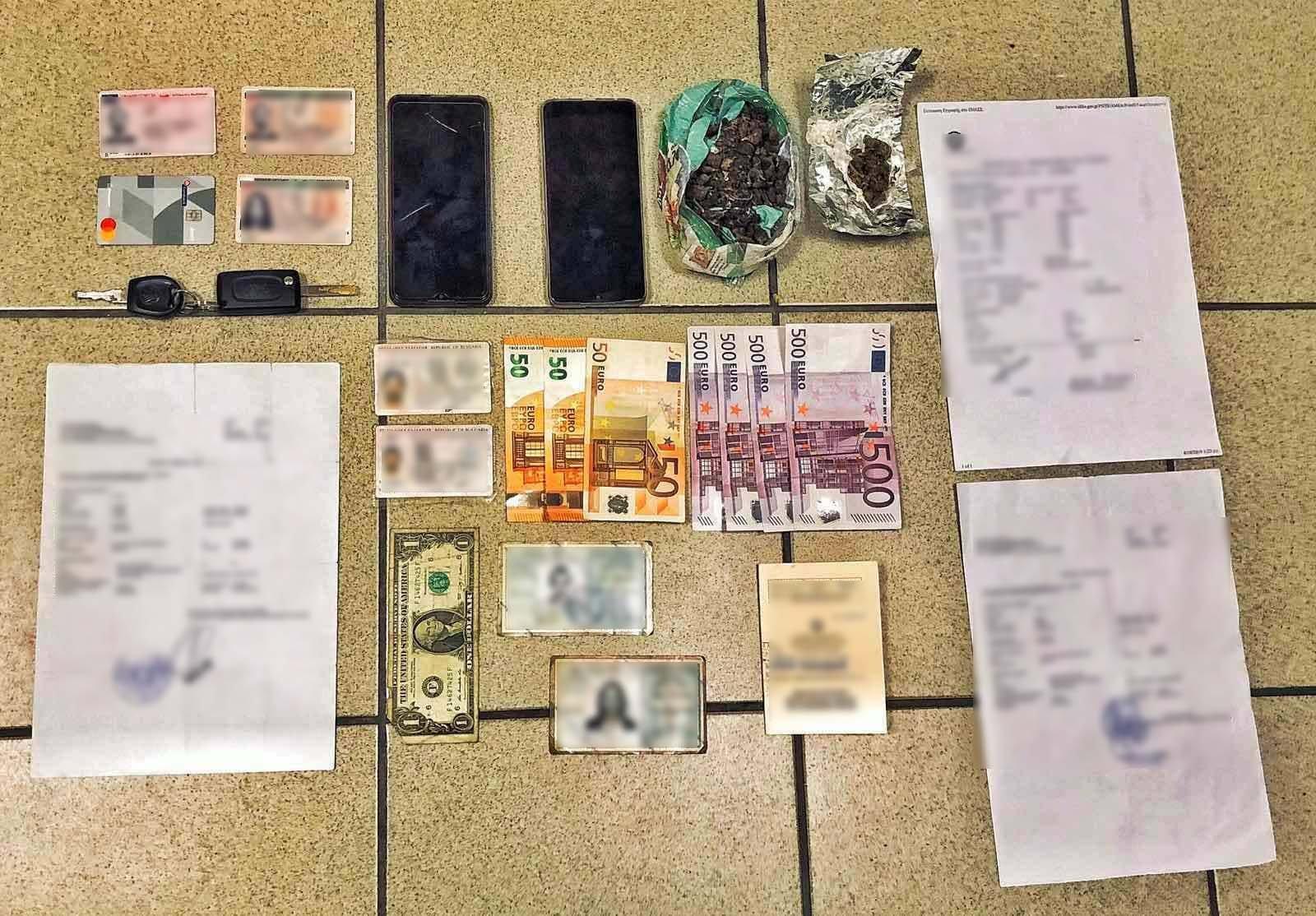 Θεσσαλονίκη: Οι εικόνες πίσω από τη σύλληψη Σέρβου καταζητούμενου για διακίνηση ναρκωτικών