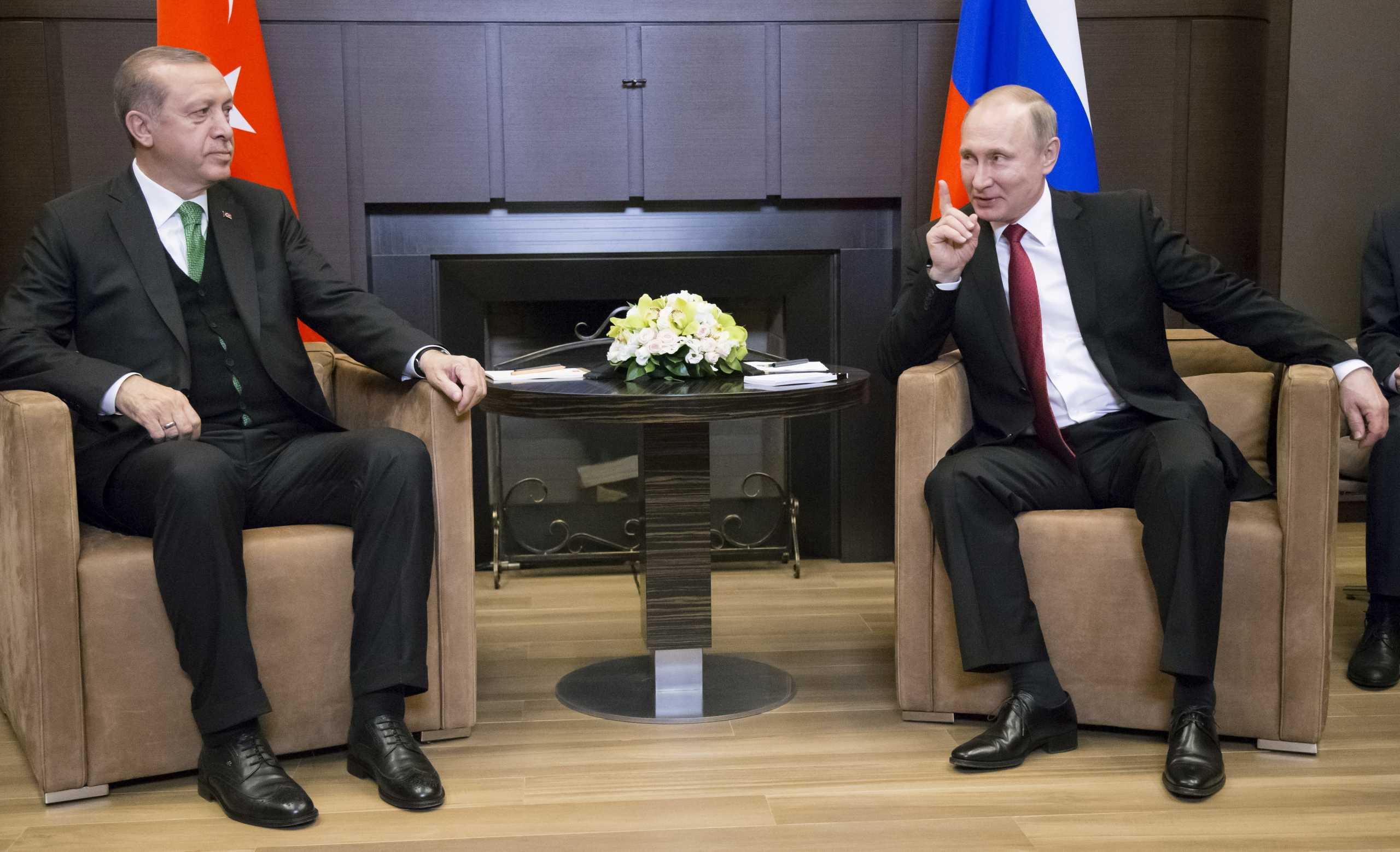 «Έκλεισε» το τετ-α-τετ Ερντογάν και Πούτιν για την «επίμαχη» επαρχία Ιντλίμπ