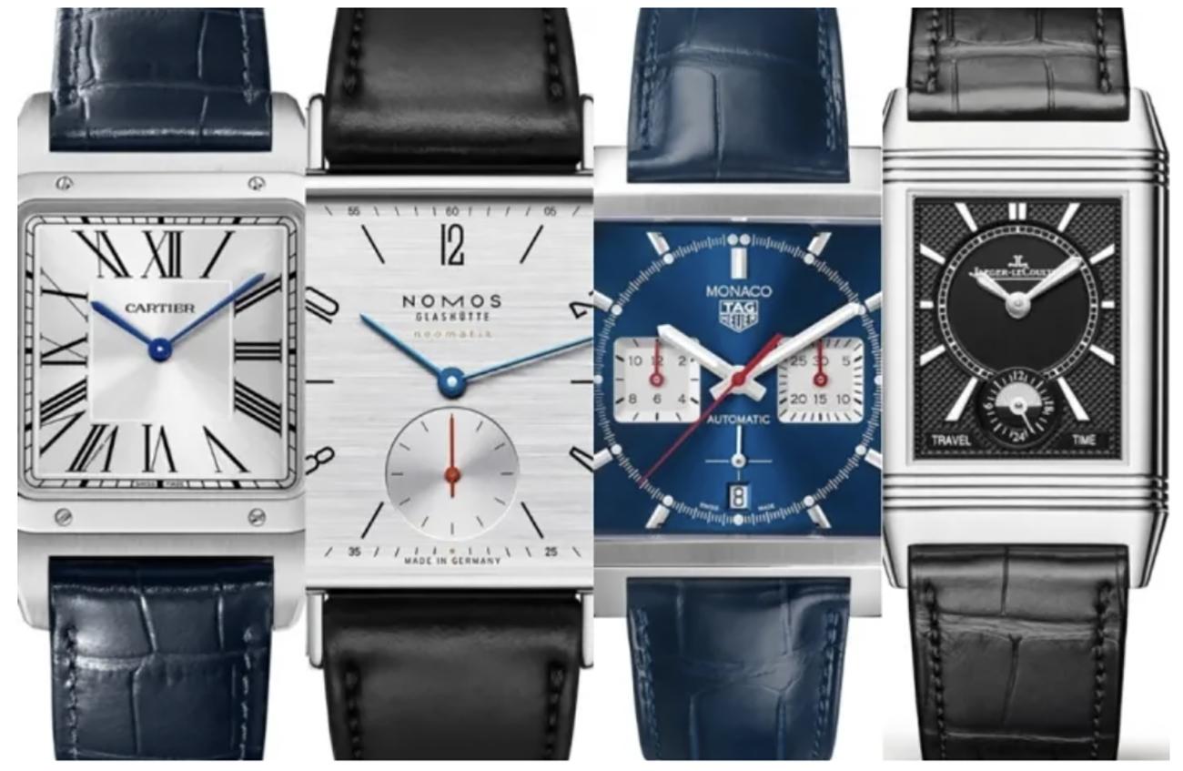 7 ρολόγια με τετράγωνη κάσα που αξίζει να επενδύσετε