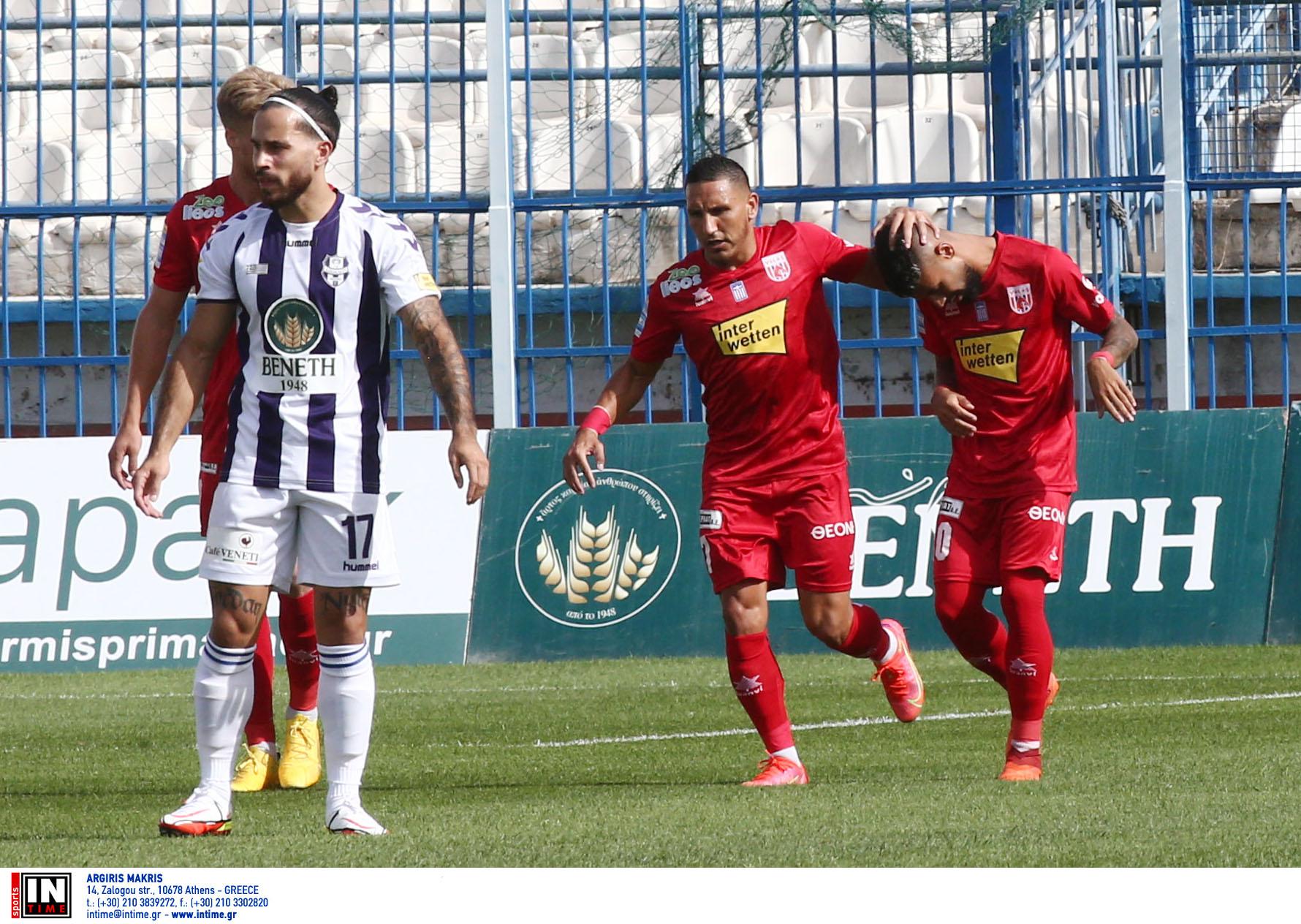 Super League 1, Απόλλων Σμύρνης – Βόλος 1-3: Εντυπωσιακό «διπλό» πρωτιάς