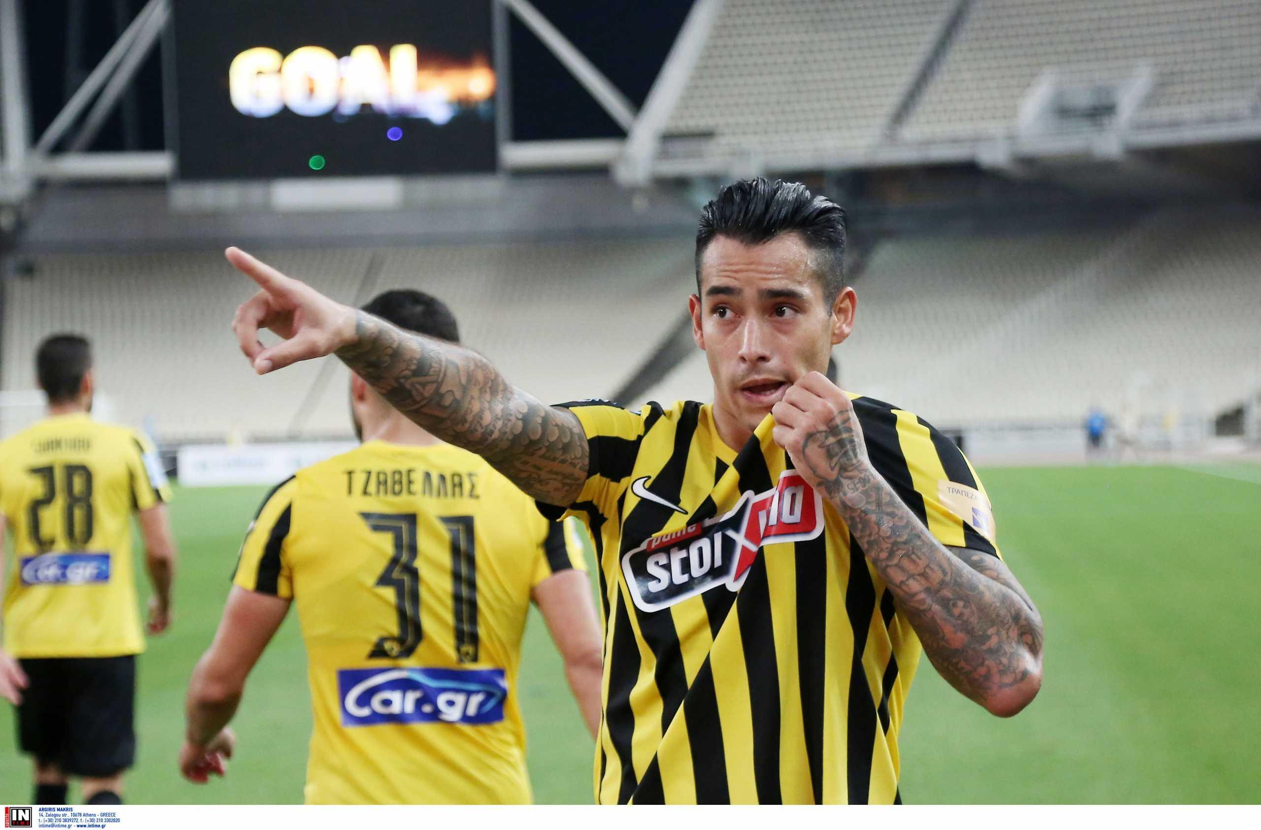 Superleague 1, ΑΕΚ – Λαμία 1-0: Ο Σέρχιο Αραούχο έλυσε το «Γόρδιο δεσμό» που βρήκε στο ΟΑΚΑ