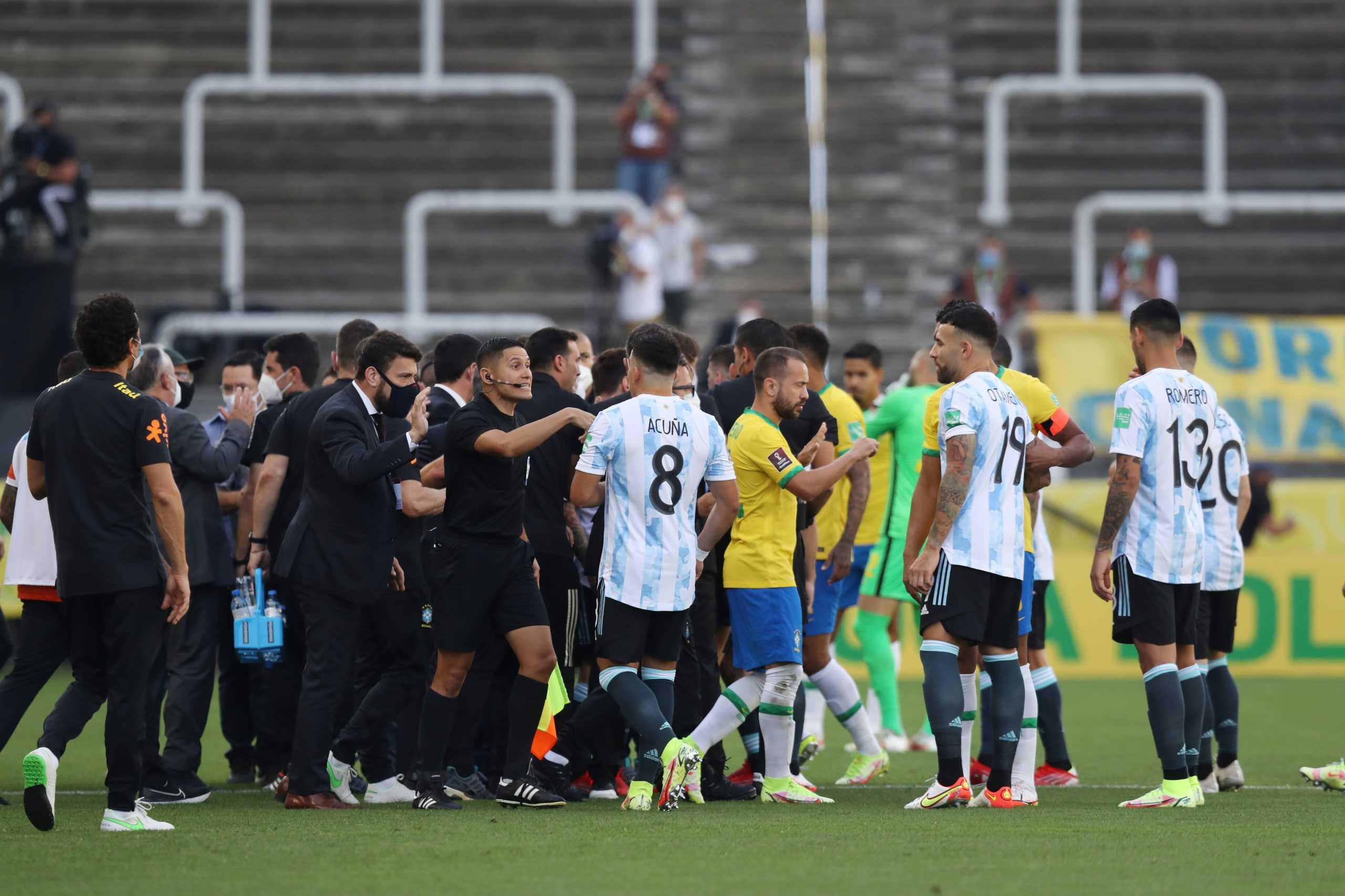Πειθαρχική έρευνα της FIFA για το Βραζιλία-Αργεντινή