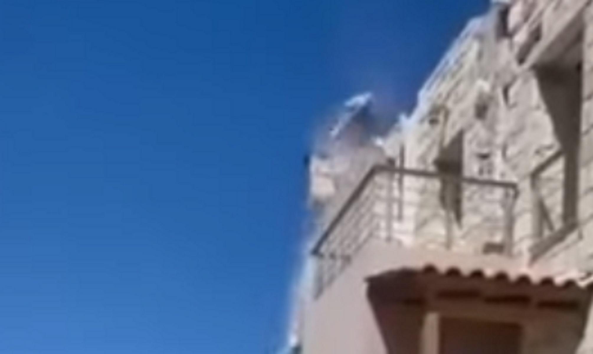 Σεισμός στην Κρήτη: Βίντεο ντοκουμέντο – Στέγη καταρρέει on camera