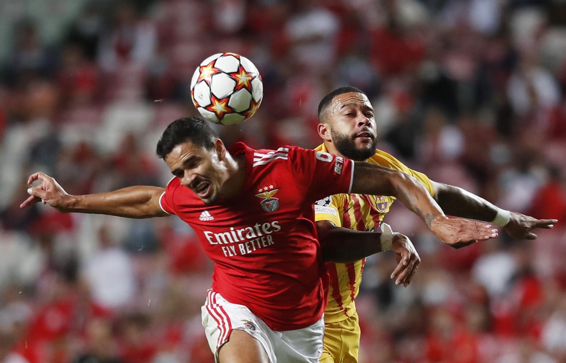 Champions League ΤΕΛΙΚΑ: «Σφαλιάρα» για Μπαρτσελόνα από Μπενφίκα – Νίκη για Γιουνάιτεντ με «σφραγίδα» Κριστιάνο Ρονάλντο