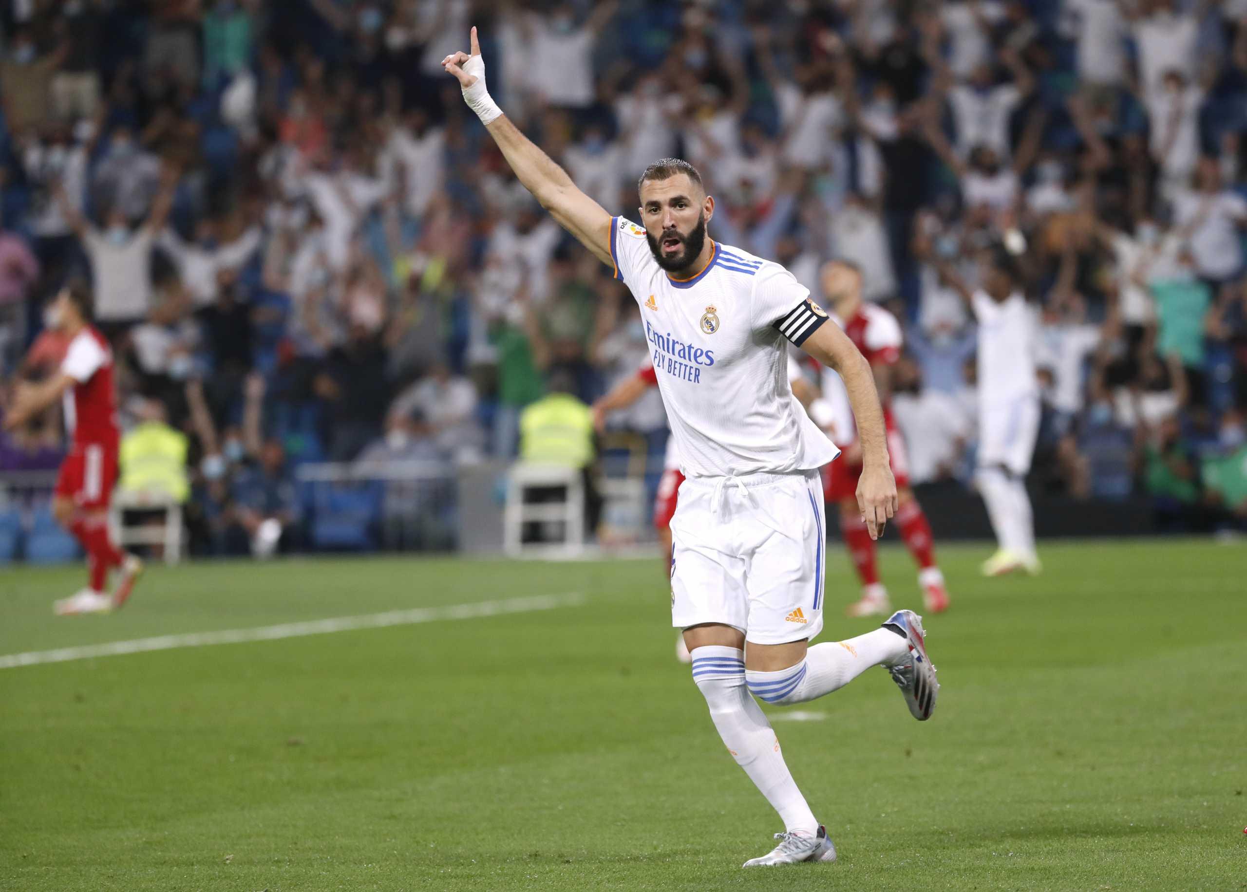 La Liga: Η Ρεάλ με «χατ τρικ» Μπενζεμά «κατάπιε» τη Θέλτα στην επιστροφή στο «Μπερναμπέου»