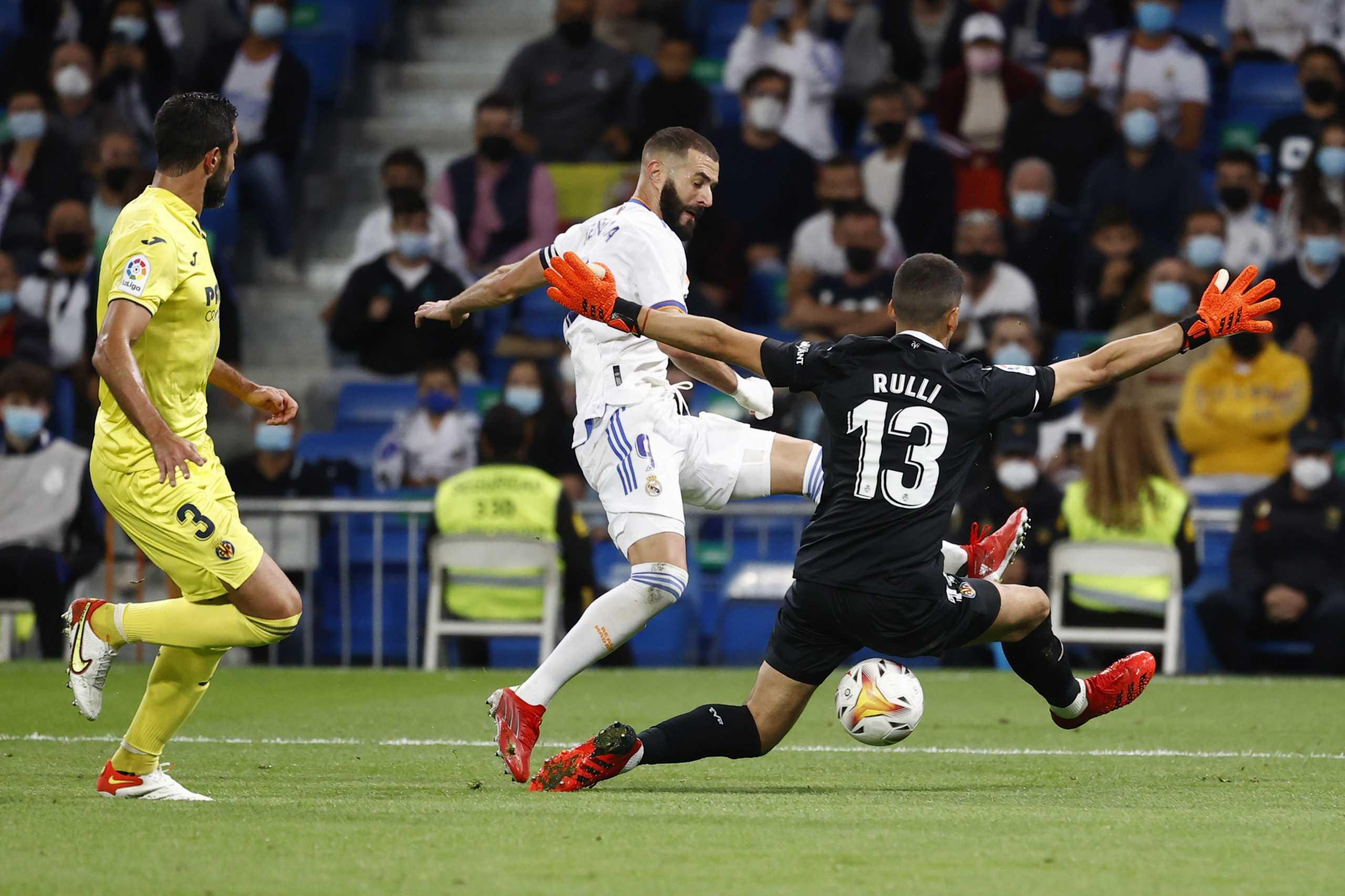 La Liga, Ρεάλ Μαδρίτης – Βιγιαρεάλ 0-0: «Κλώτσησε» το δώρο της Ατλέτικο η «βασίλισσα»