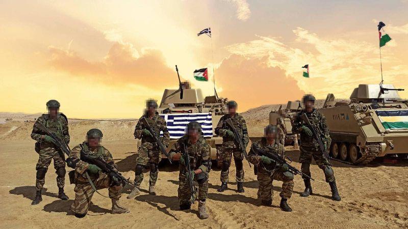 BRIGHT STAR 21: «Έλαμψαν» στην έρημο της Αιγύπτου οι Ένοπλες Δυνάμεις [pics, vid]