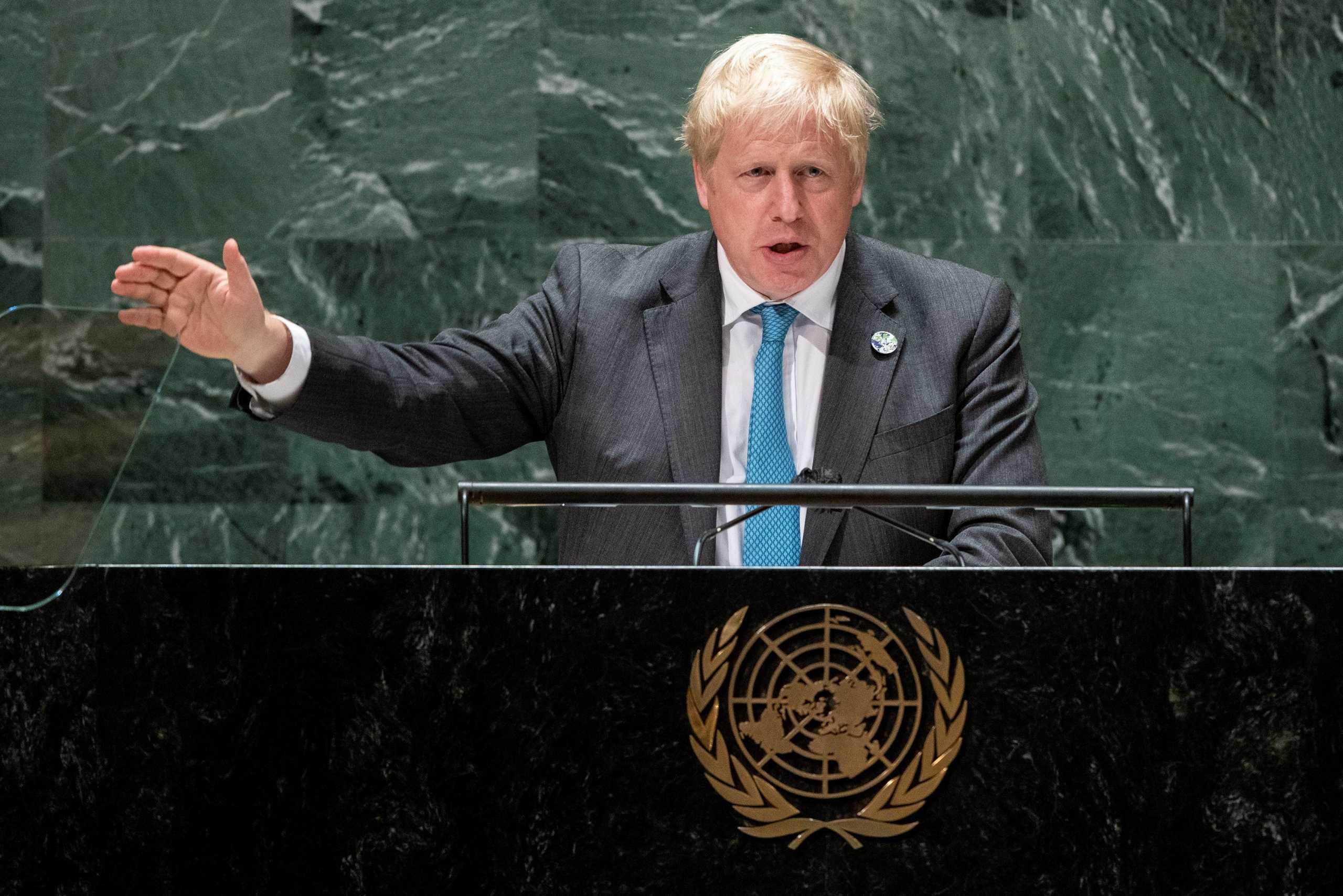 Ο Μπόρις Τζόνσον προσπάθησε να μιλήσει σε αρχαία Ελληνικά στη Γενική Συνέλευση του ΟΗΕ