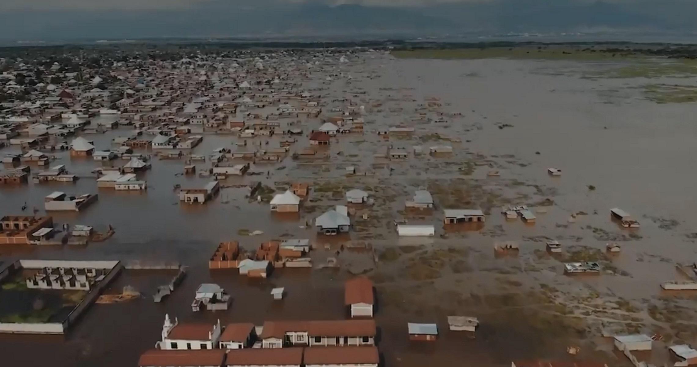 Μπουρούντι – Καταστροφικές πλημμύρες: Πάνω από 100.000 άστεγοι – Σκέπασε τα πάντα η λίμνη Τανγκανίκα