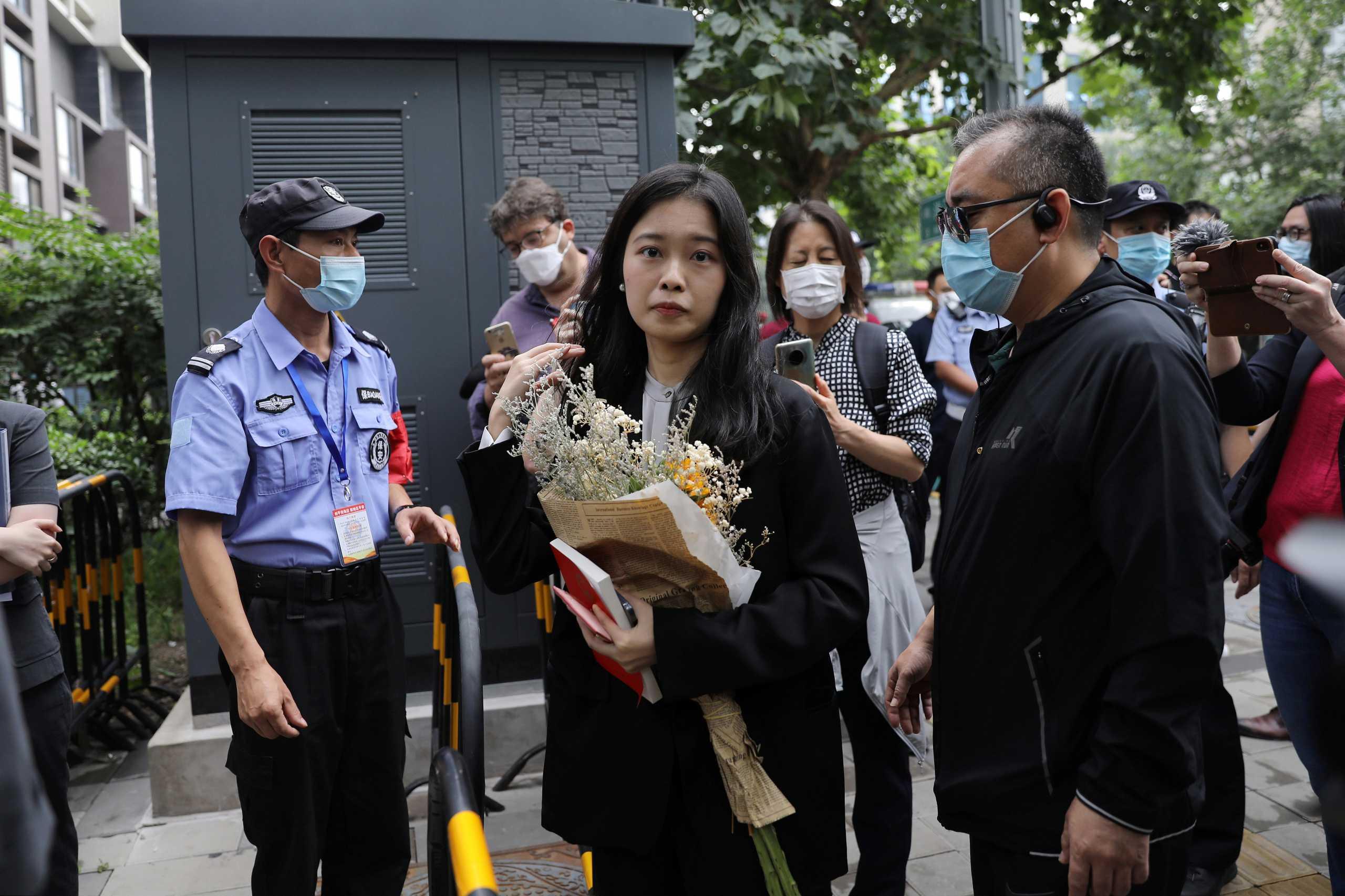 Πλήγμα στο κίνημα #MeToo της Κίνας: Έχασε τη δίκη η καταγγέλλουσα πολύ γνωστής υπόθεσης