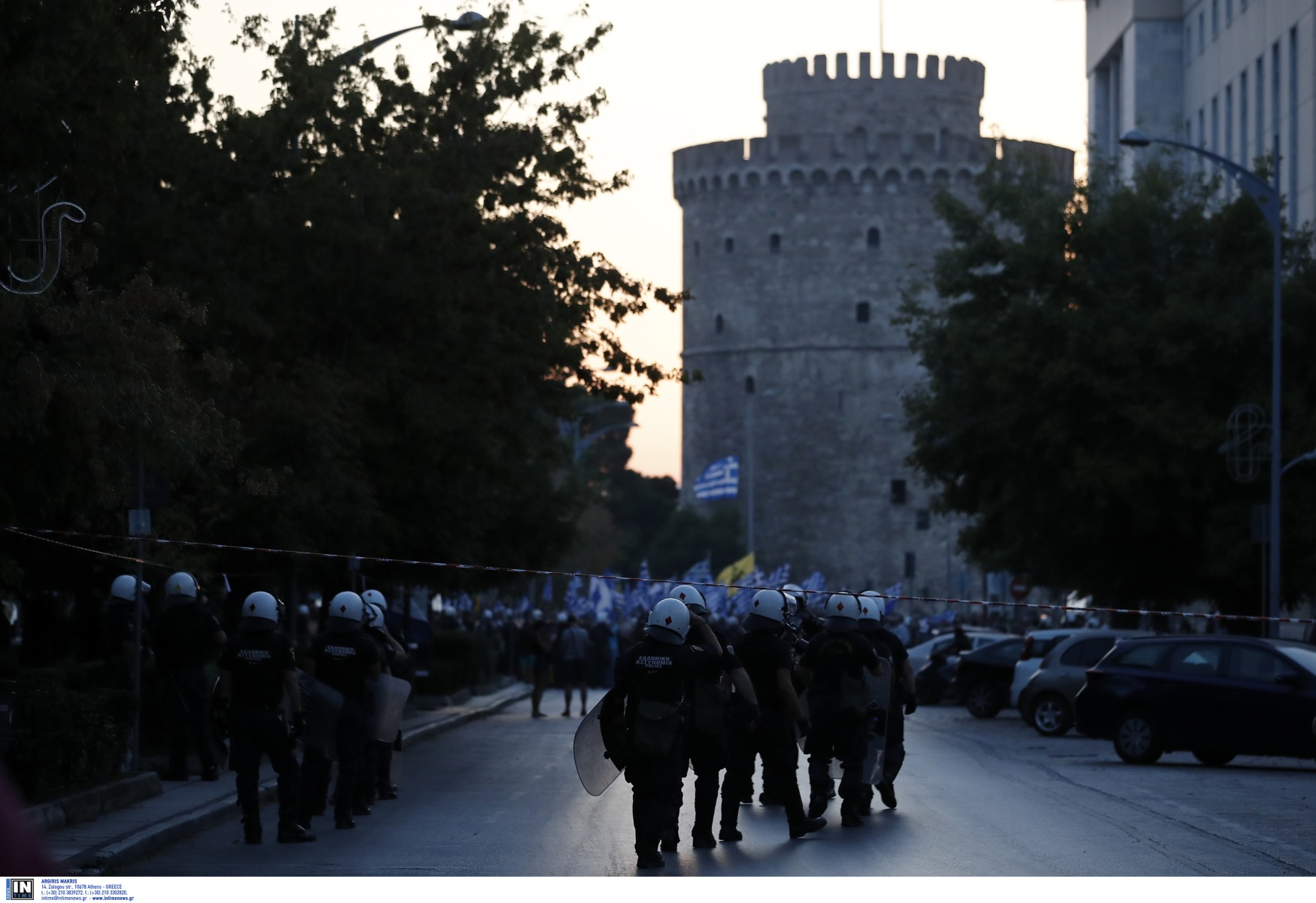 ΔΕΘ 2021 – Θεσσαλονίκη: «Αστακός» ενόψει εγκαινίων – 5.500 αστυνομικοί, drones, «Αίαντες», ελικόπτερα