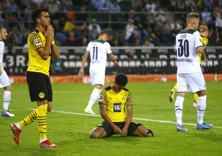 Γκλάντμπαχ – Ντόρτμουντ 1-0: Χωρίς Χάαλαντ δεν είχε ελπίδα
