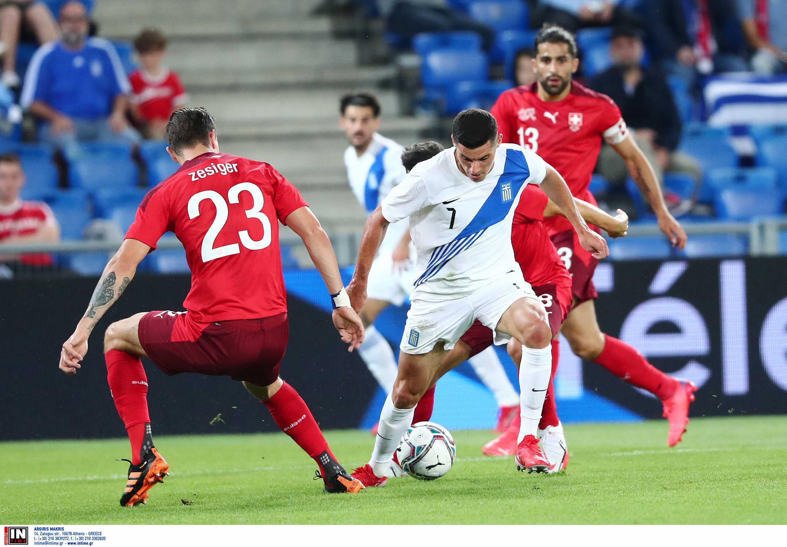 Ελβετία – Ελλάδα 2-1: Ηττήθηκε αλλά άφησε υποσχέσεις η Εθνική
