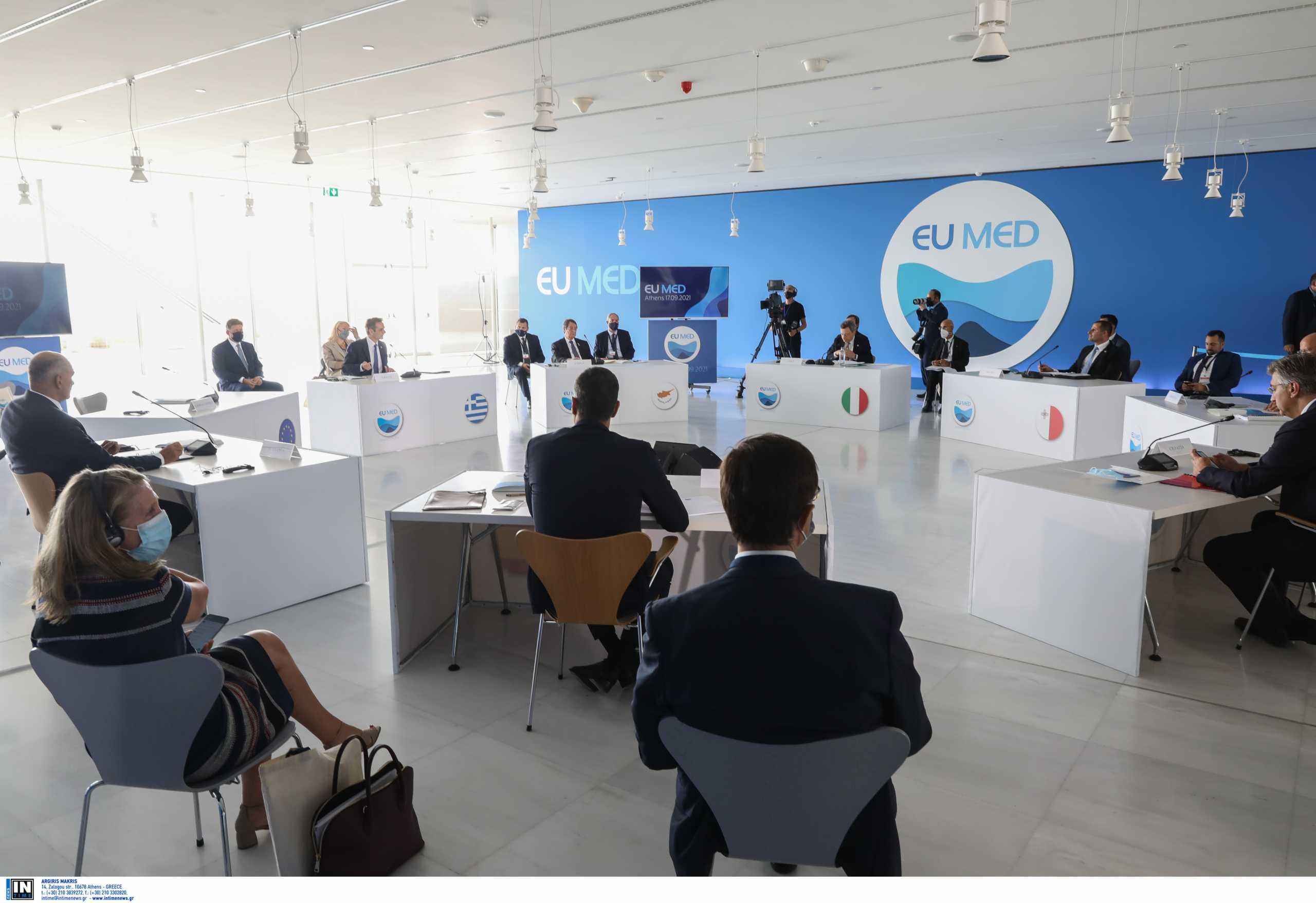 Euromed 9: «Δεν υπάρχει καιρός για χάσιμο» τονίζει ο πρόεδρος του ΕΚ Νταβίντ Σασόλι