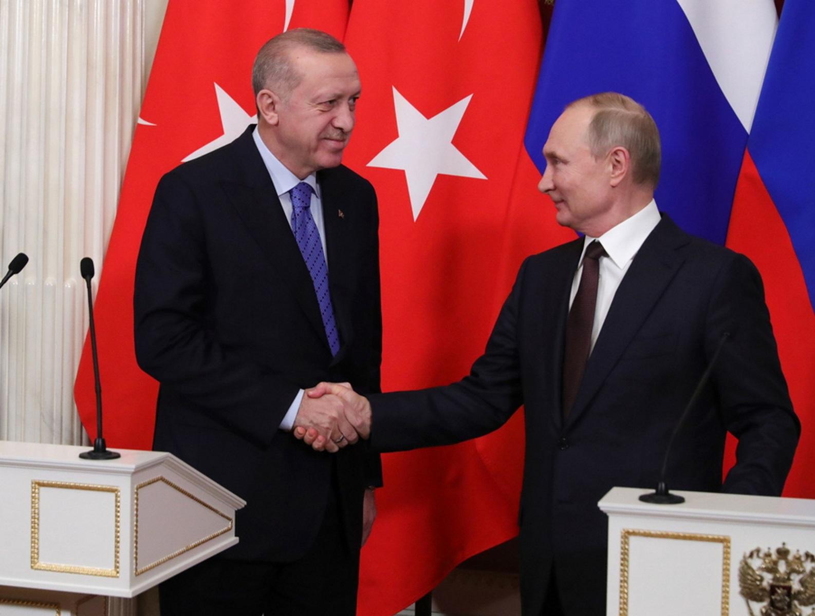 Βλαντίμιρ Πούτιν – Ρετζέπ Ταγίπ Ερντογάν: Συνάντηση στο Σότσι με «φόντο» τους S-400